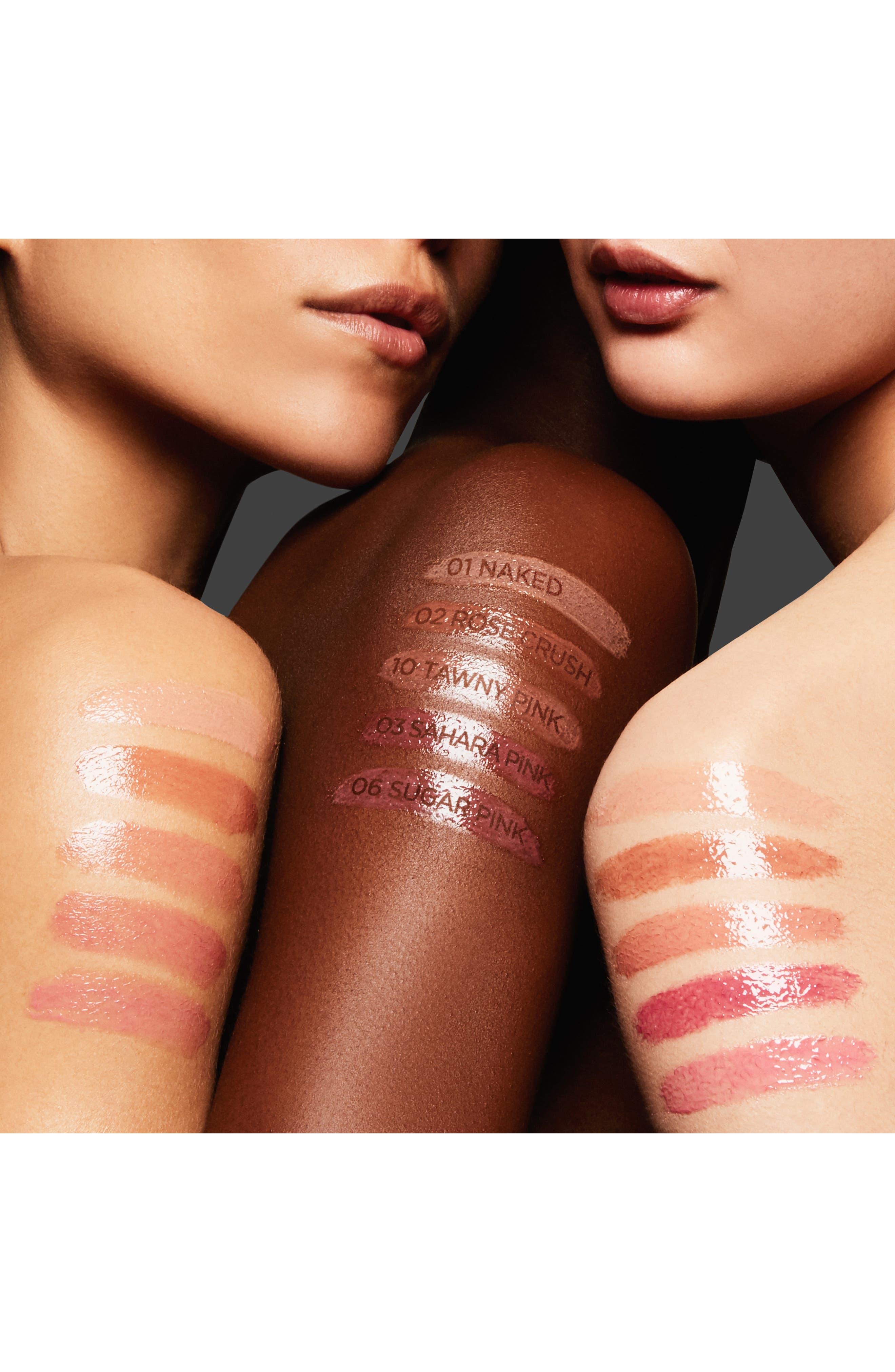 TOM FORD, Ultra Shine Lip Gloss, Alternate thumbnail 5, color, NAKED