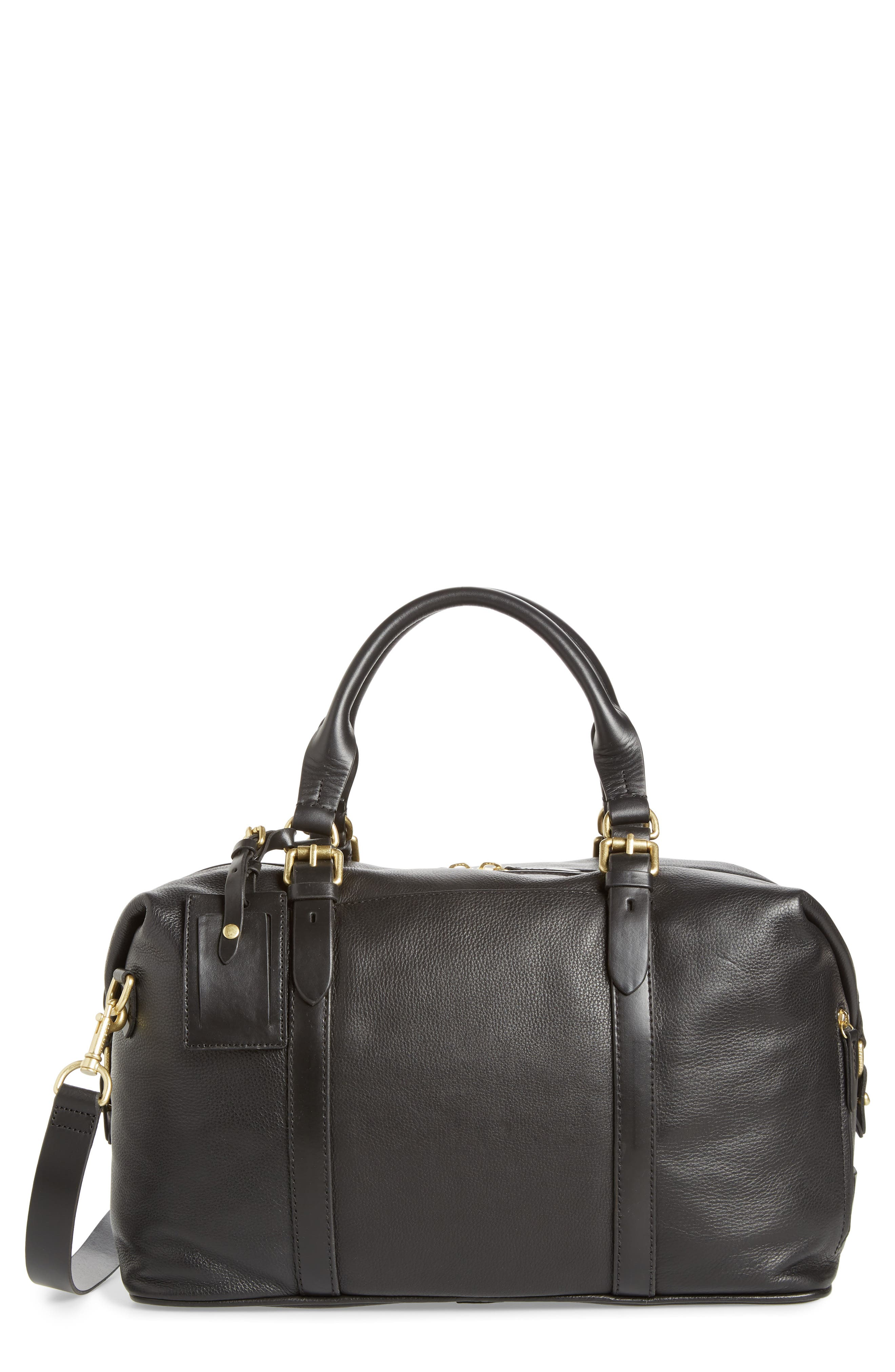 COLE HAAN Matthews Duffel Bag, Main, color, 001