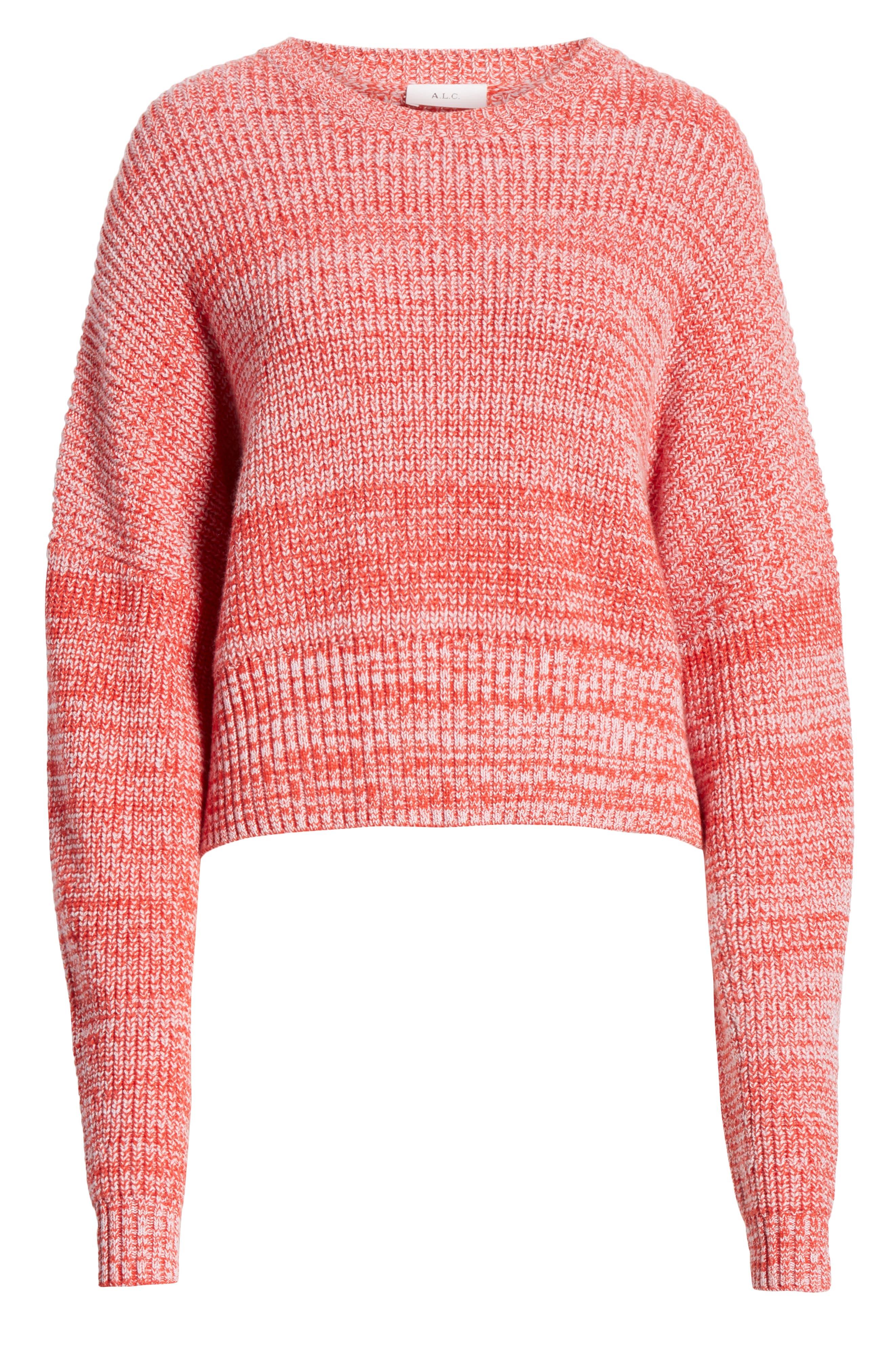 A.L.C., Webster Sweater, Alternate thumbnail 6, color, 600