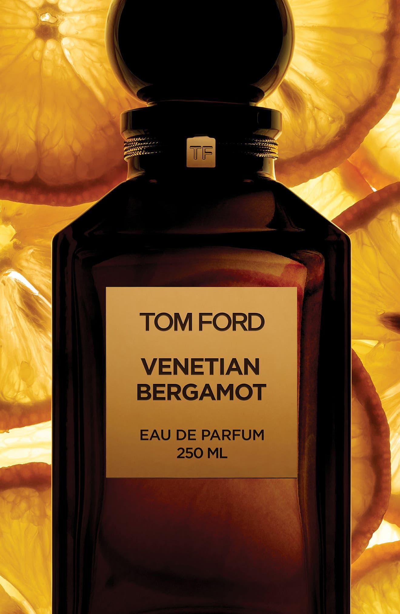 TOM FORD, Private Blend Venetian Bergamot Eau de Parfum, Alternate thumbnail 3, color, NO COLOR