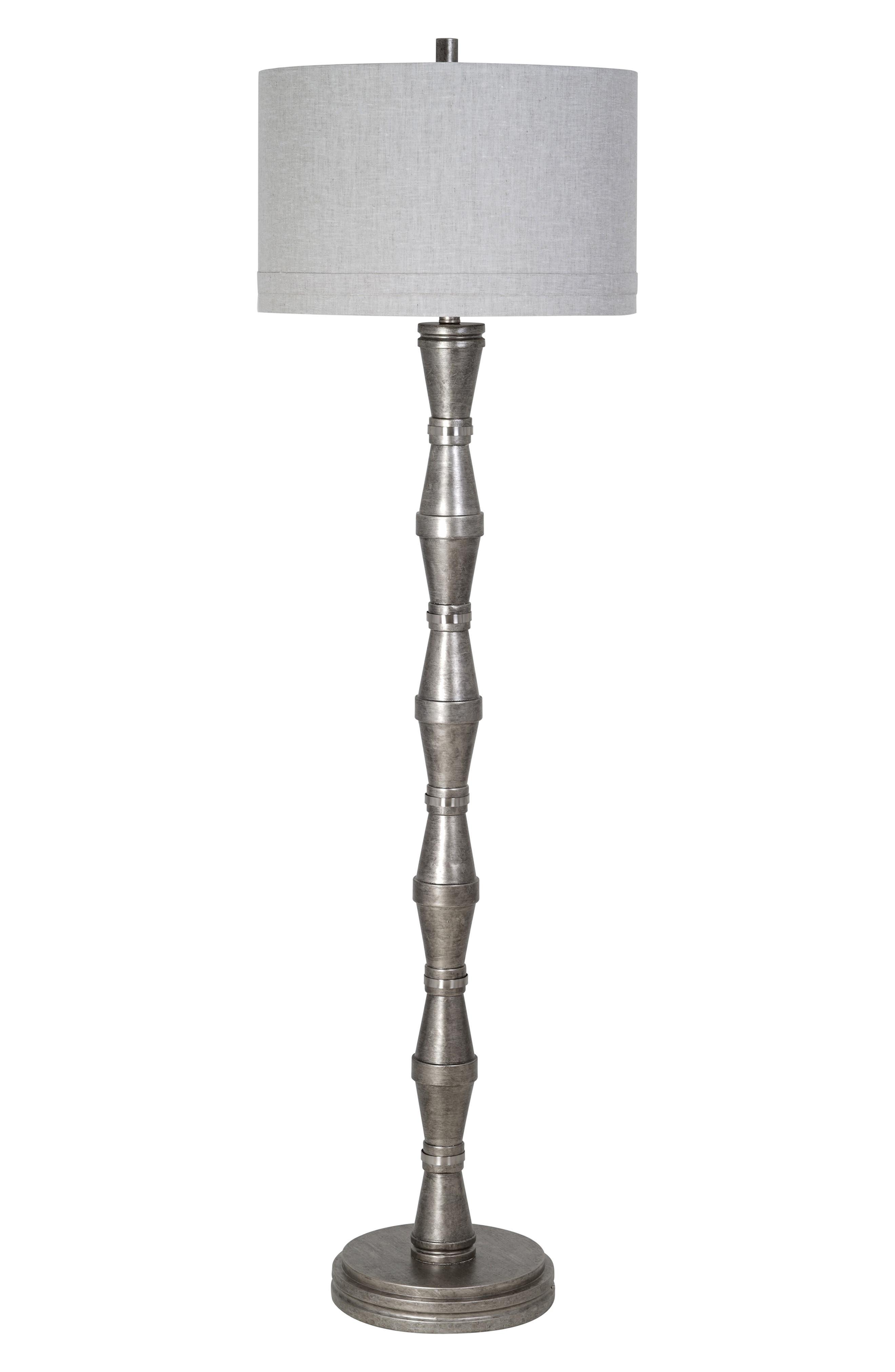 Jalexander Lighting Walden Floor Lamp Size One Size  Metallic