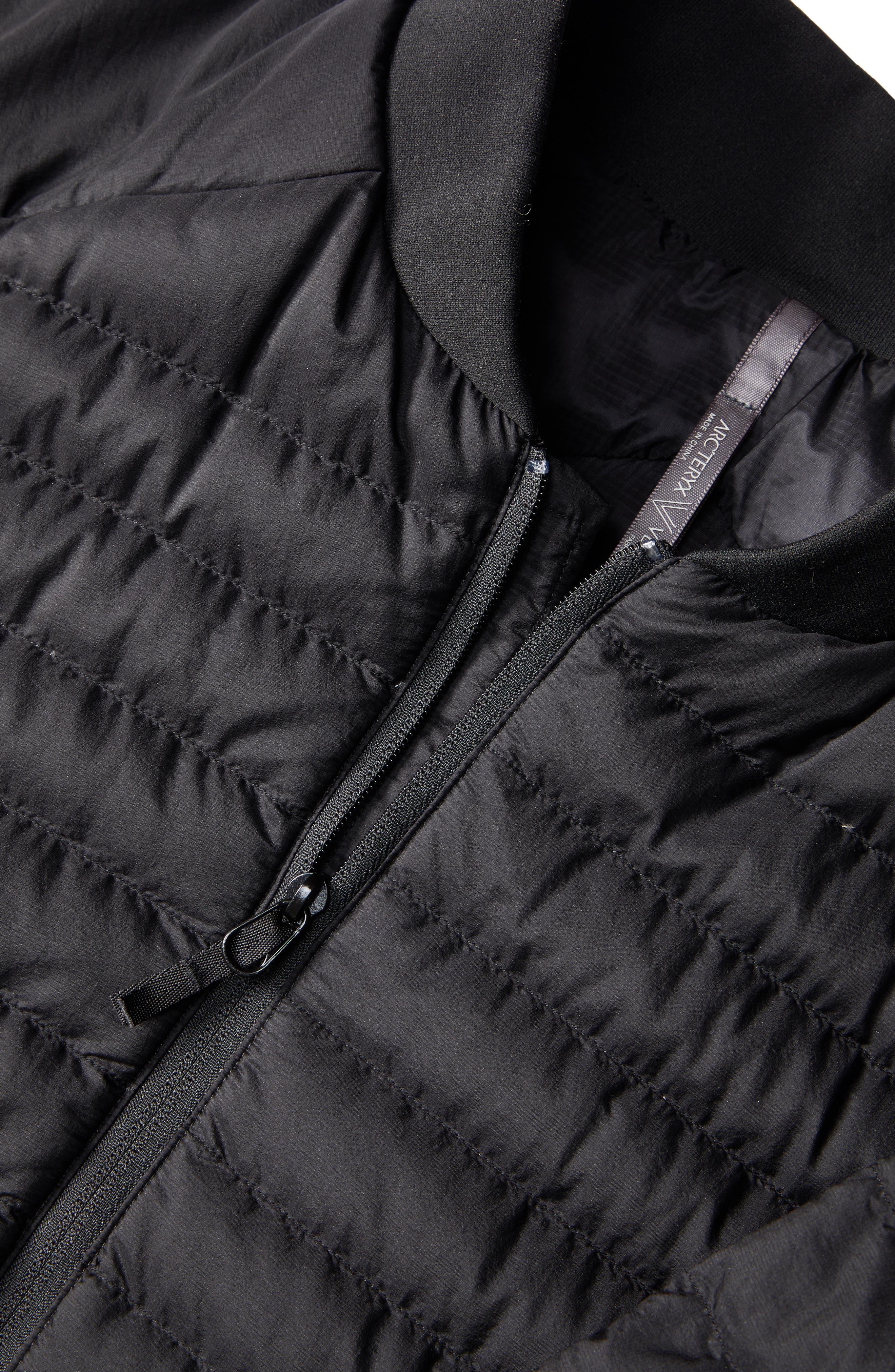 ARC'TERYX VEILANCE, Conduit Lightweight Down Jacket, Alternate thumbnail 7, color, 001