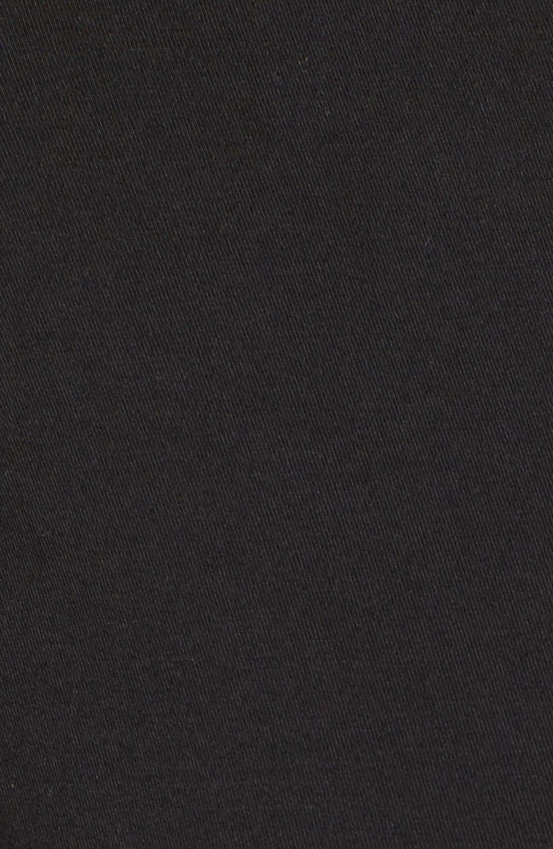 TART MATERNITY, Tart 'Peaches' Maternity Body-Con Dress, Alternate thumbnail 2, color, BLACK
