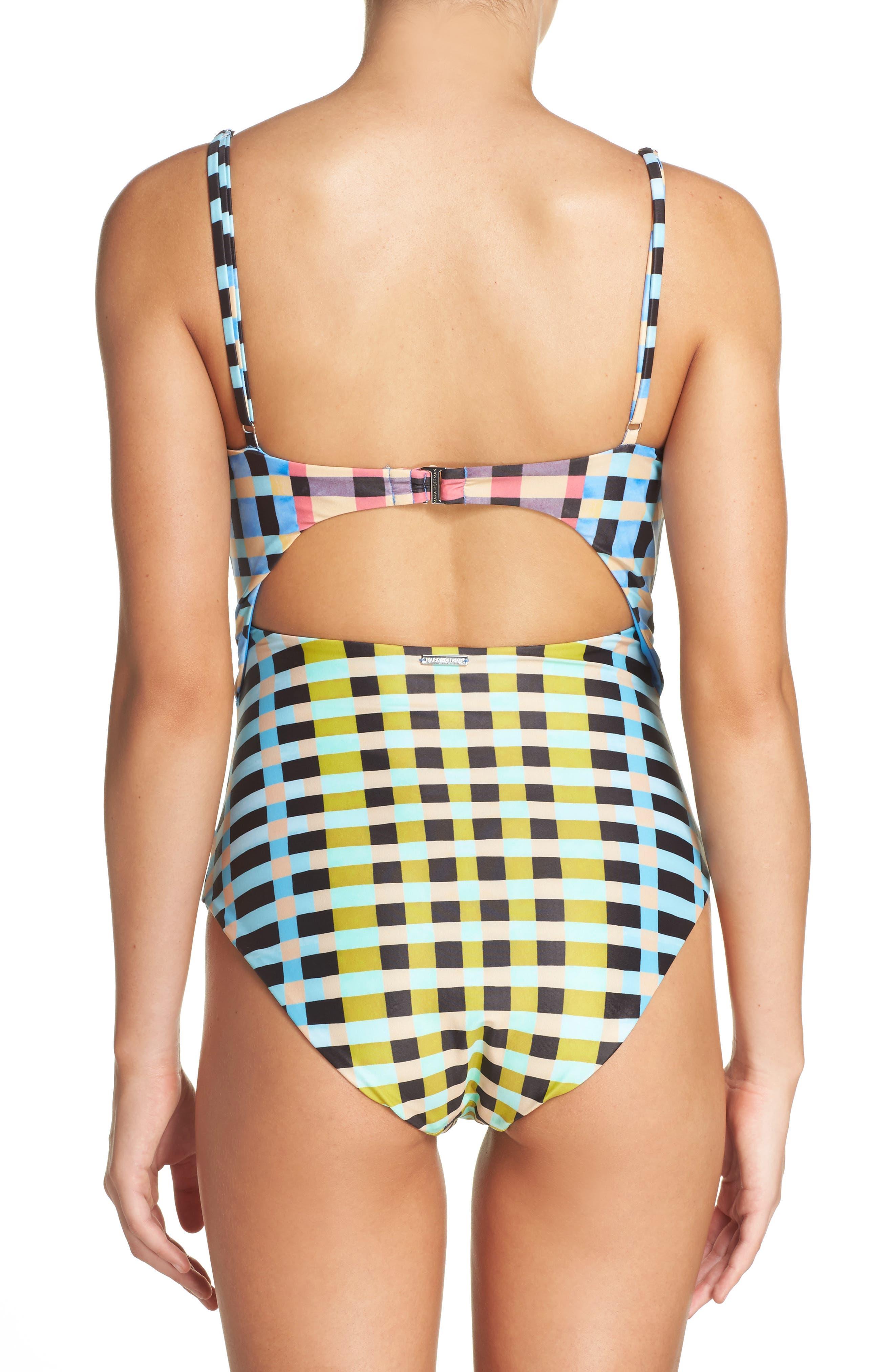 MARA HOFFMAN, One-Piece Swimsuit, Alternate thumbnail 2, color, 799