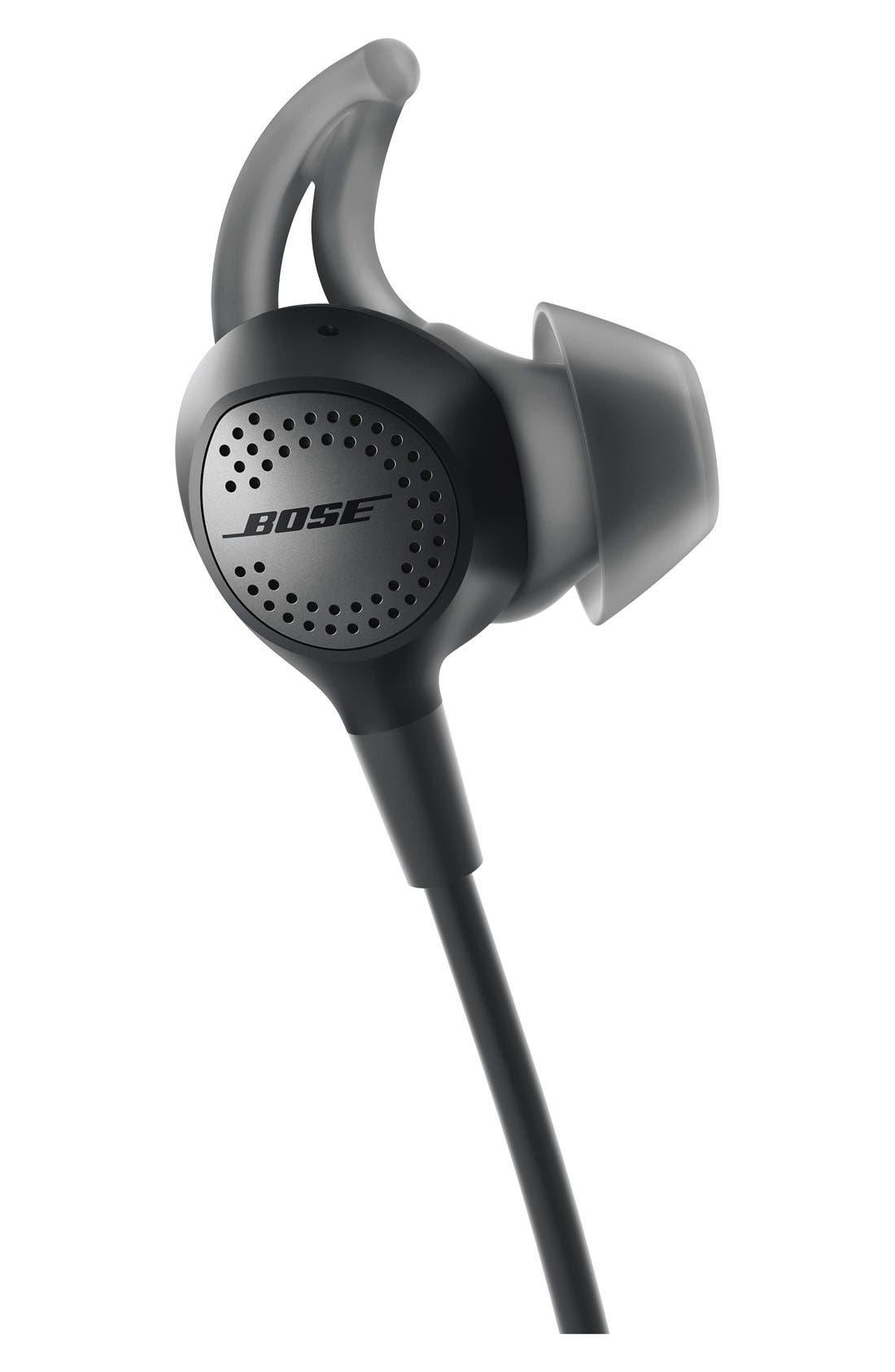 BOSE<SUP>®</SUP>, QuietControl<sup>®</sup> 30 Wireless Headphones, Alternate thumbnail 3, color, BLACK