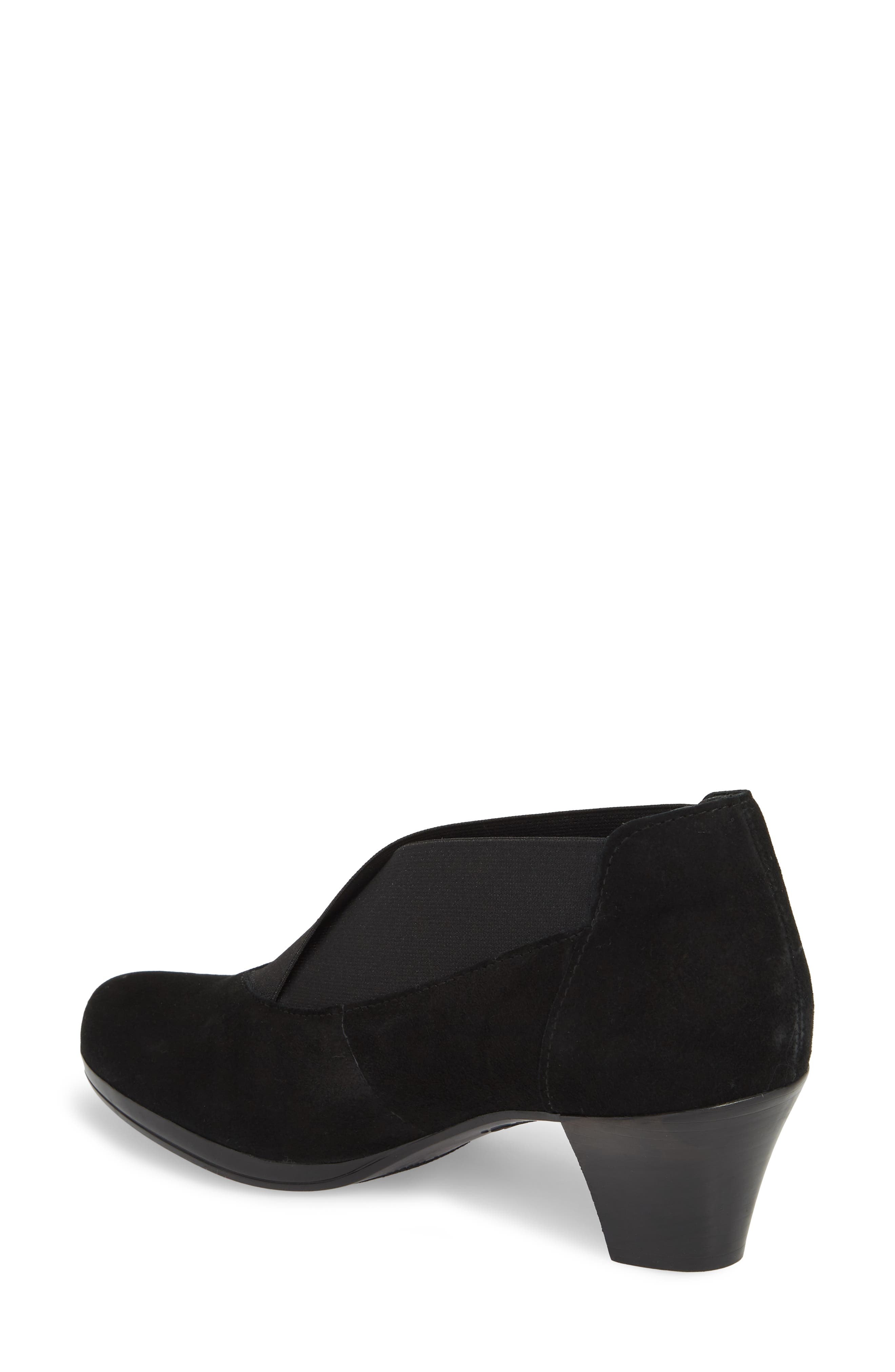 MUNRO, Francee Boot, Alternate thumbnail 2, color, BLACK SUEDE