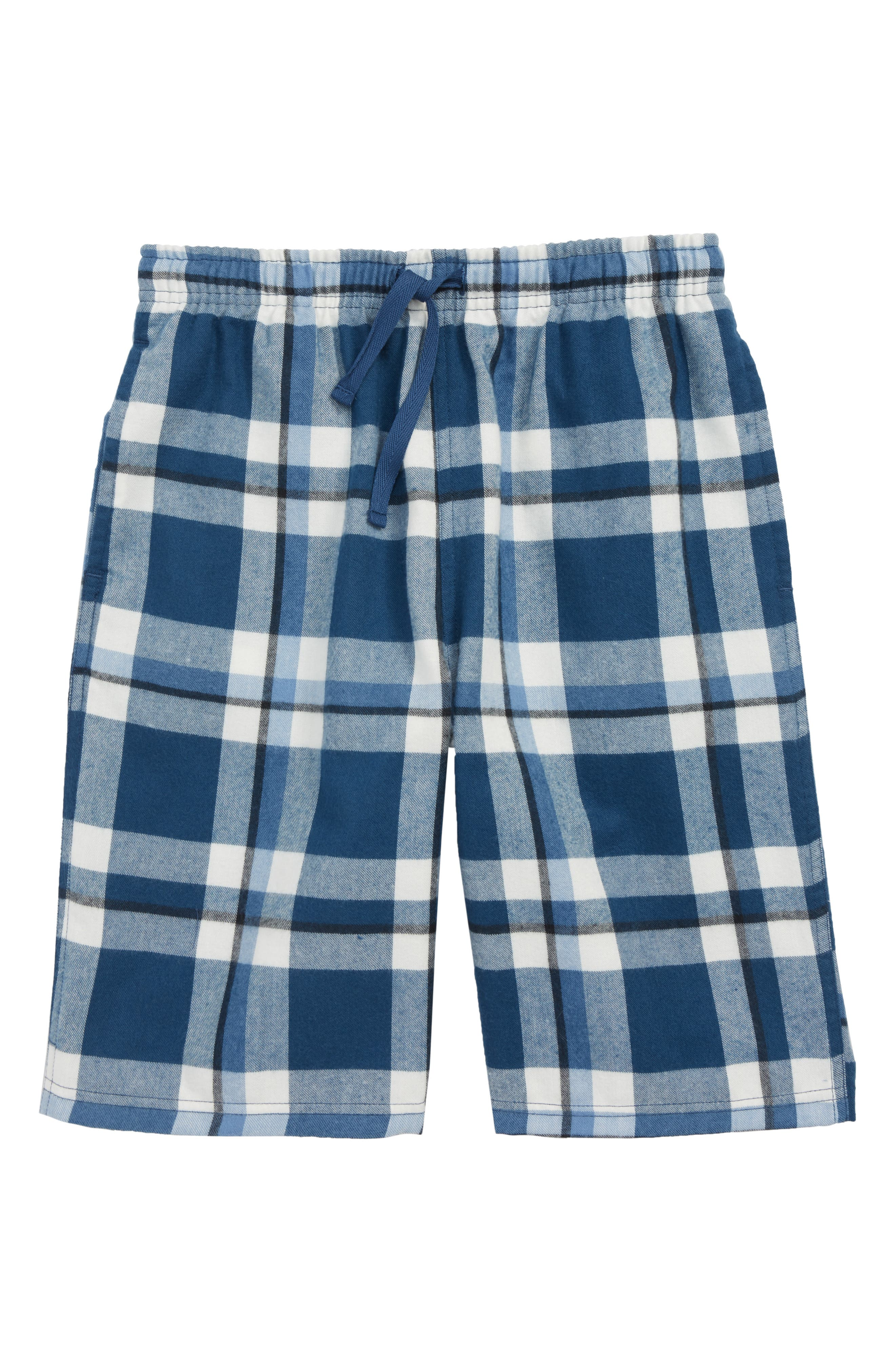 TUCKER + TATE, Plaid Flannel Sleep Shorts, Main thumbnail 1, color, 420