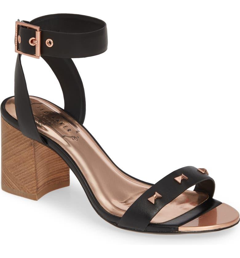 Ted Baker London Biah Ankle Strap Sandal (Women)
