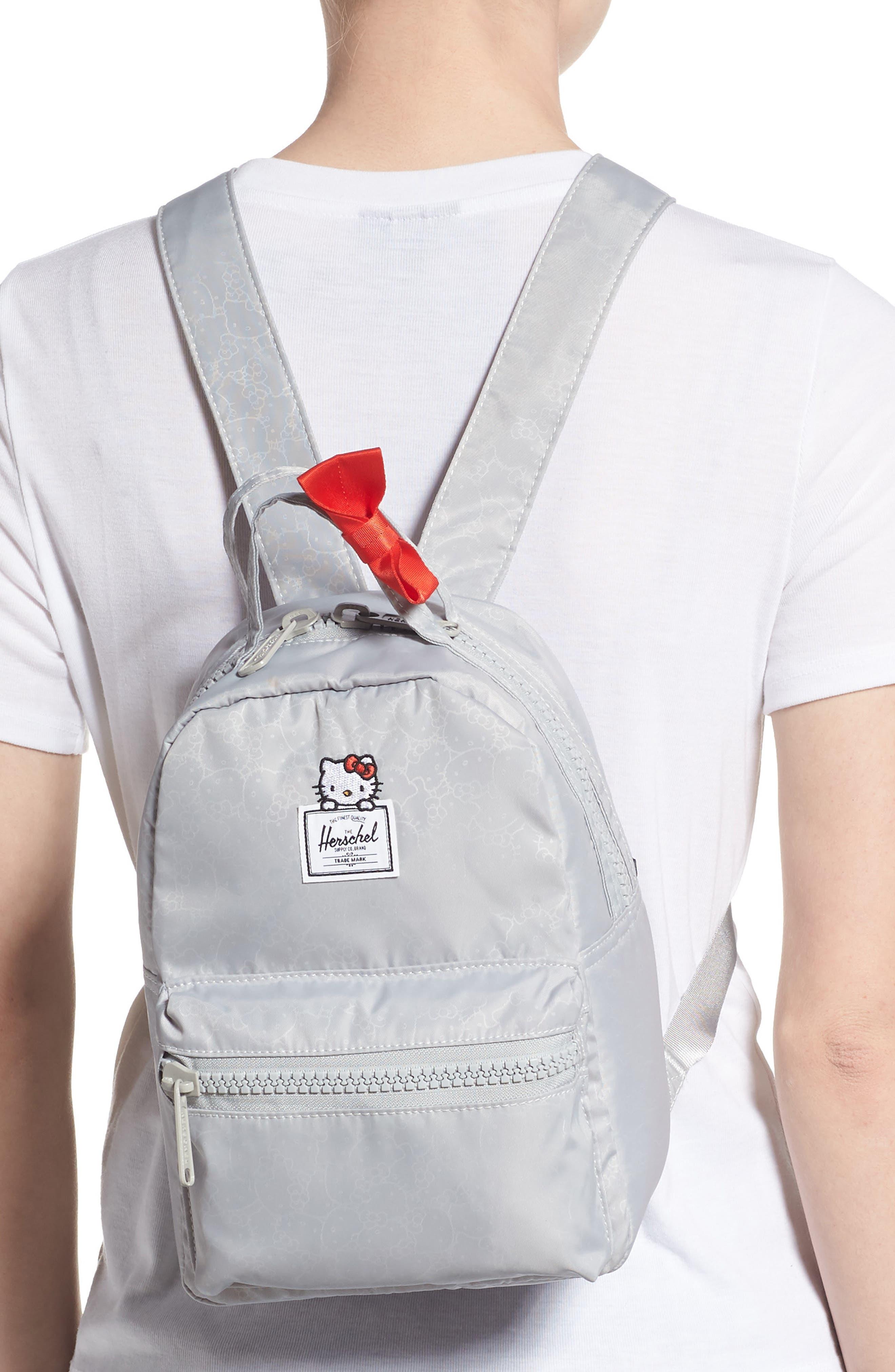 HERSCHEL SUPPLY CO., x Hello Kitty Mini Nova Backpack, Alternate thumbnail 2, color, HIGHRISE
