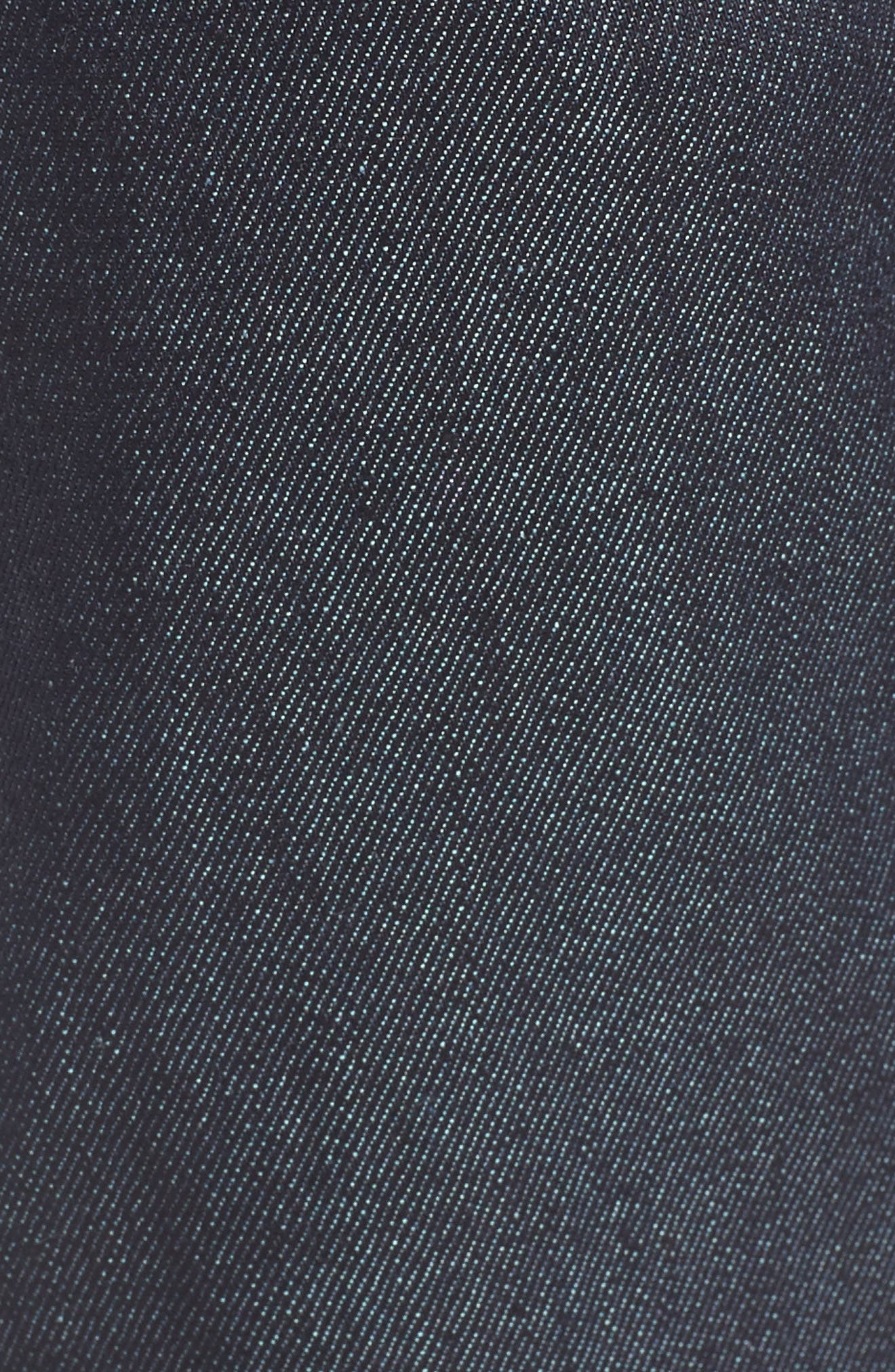 NAKED & FAMOUS DENIM, Weird Guy 11 oz. Slim Fit Stretch Selvedge Jeans, Alternate thumbnail 5, color, INDIGO