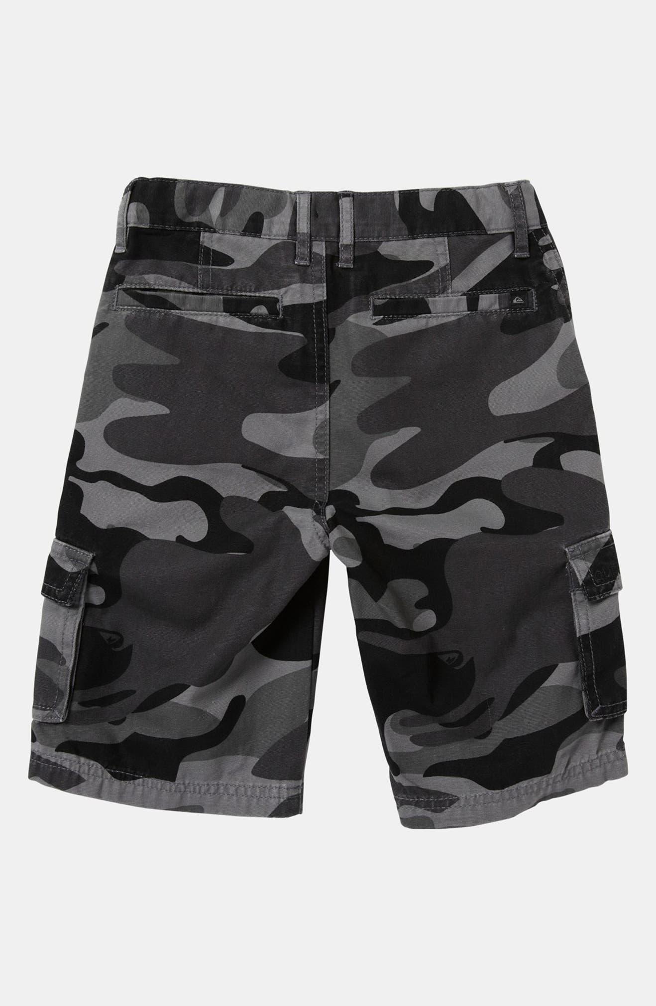 167376fe4 Quiksilver 'Sue Fley' Camo Cargo Shorts (Toddler)   Nordstrom