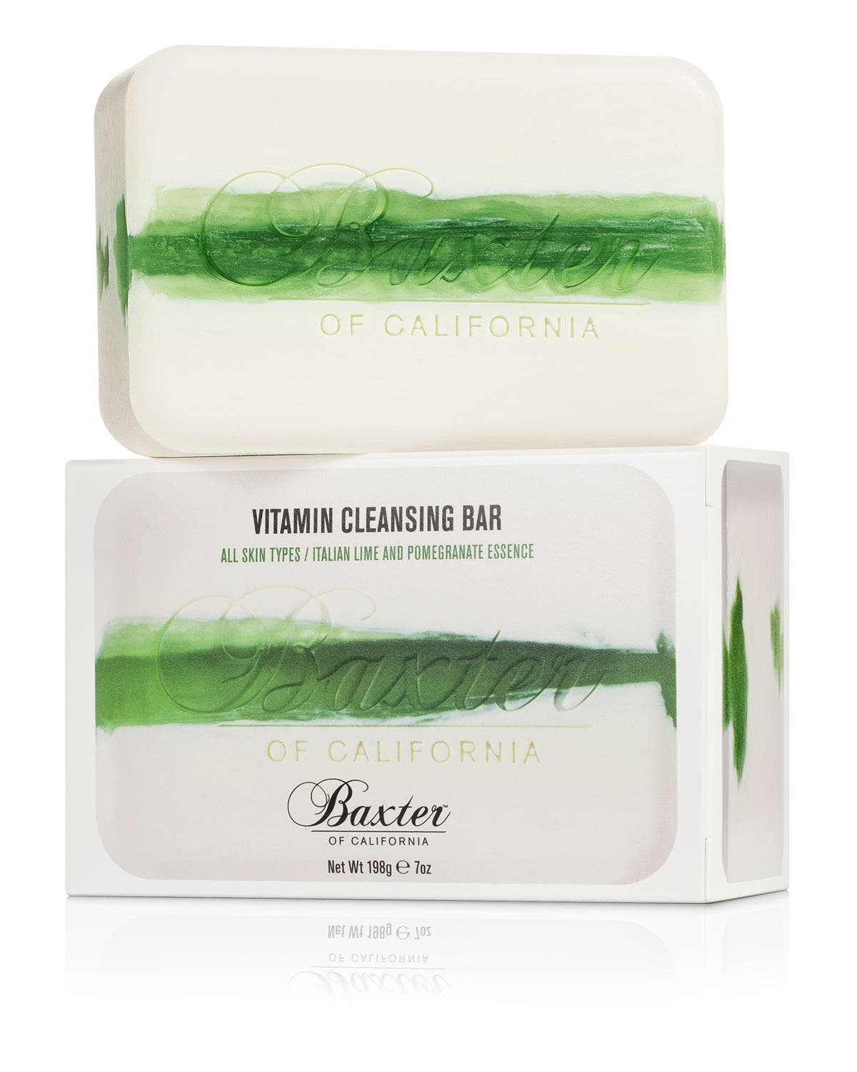 BAXTER OF CALIFORNIA, Italian Lime & Pomegranate Vitamin Cleansing Bar, Alternate thumbnail 2, color, NO COLOR