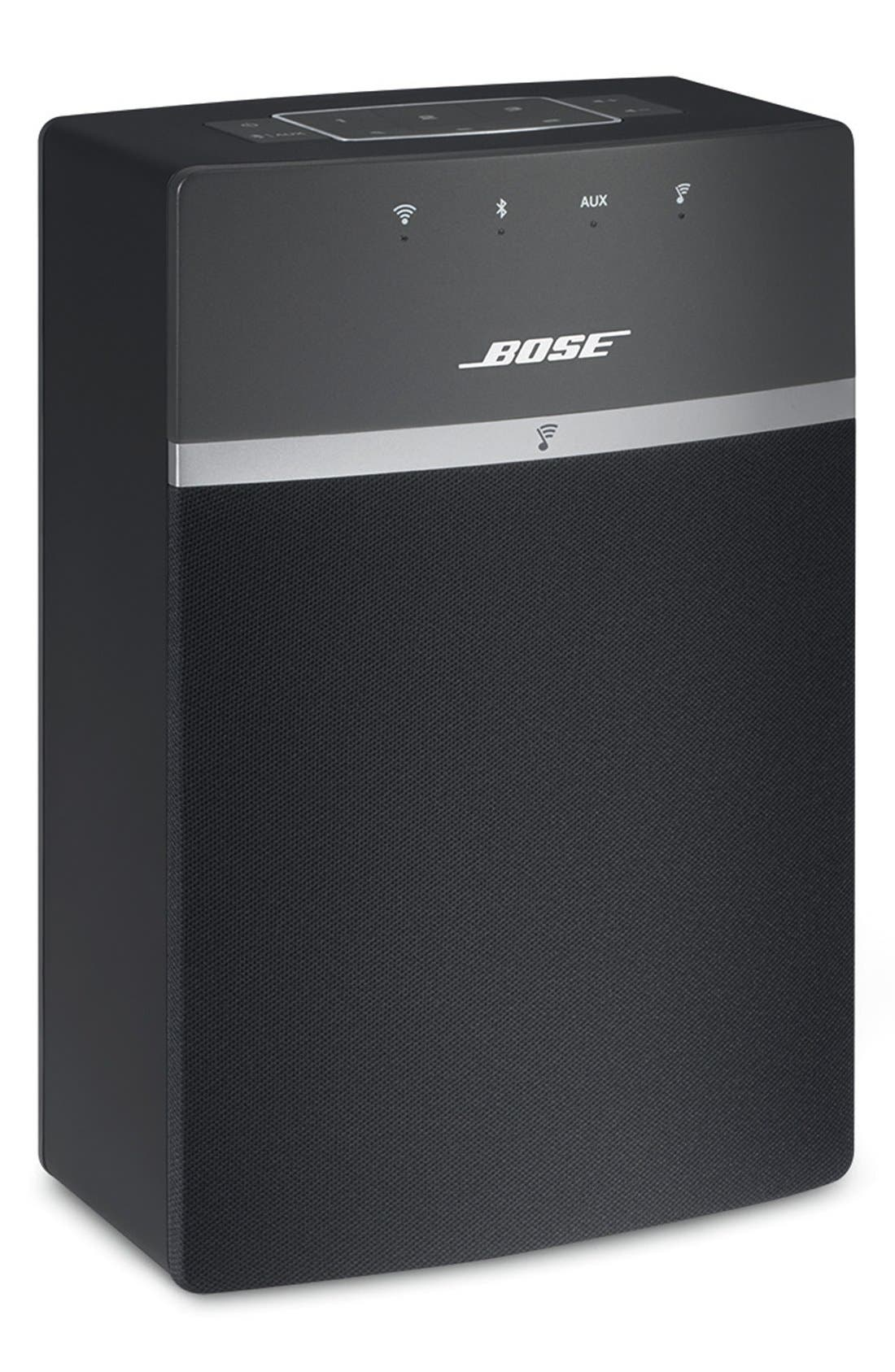 BOSE<SUP>®</SUP>, SoundTouch<sup>®</sup> 10 Wireless Music System, Alternate thumbnail 5, color, BLACK