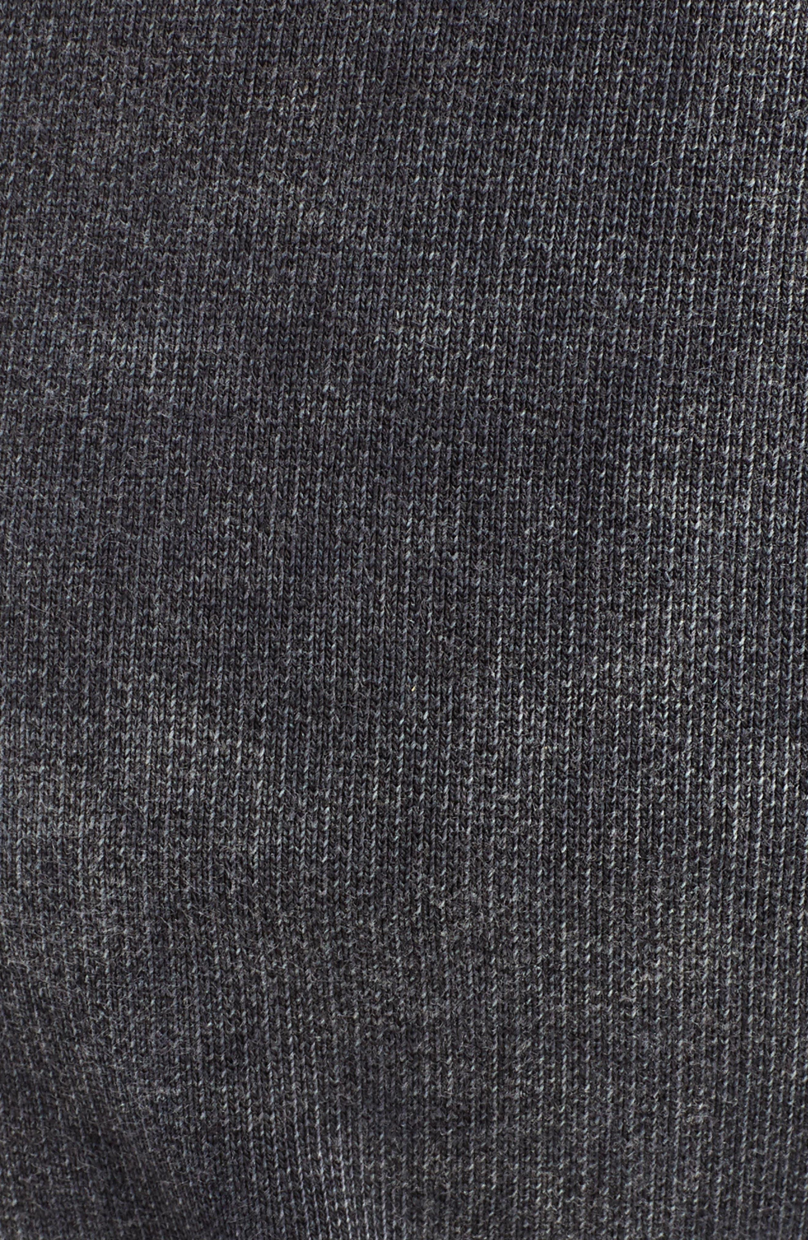 THE KOOPLES, Slim Fit Track Pants, Alternate thumbnail 5, color, BLACK WASHED