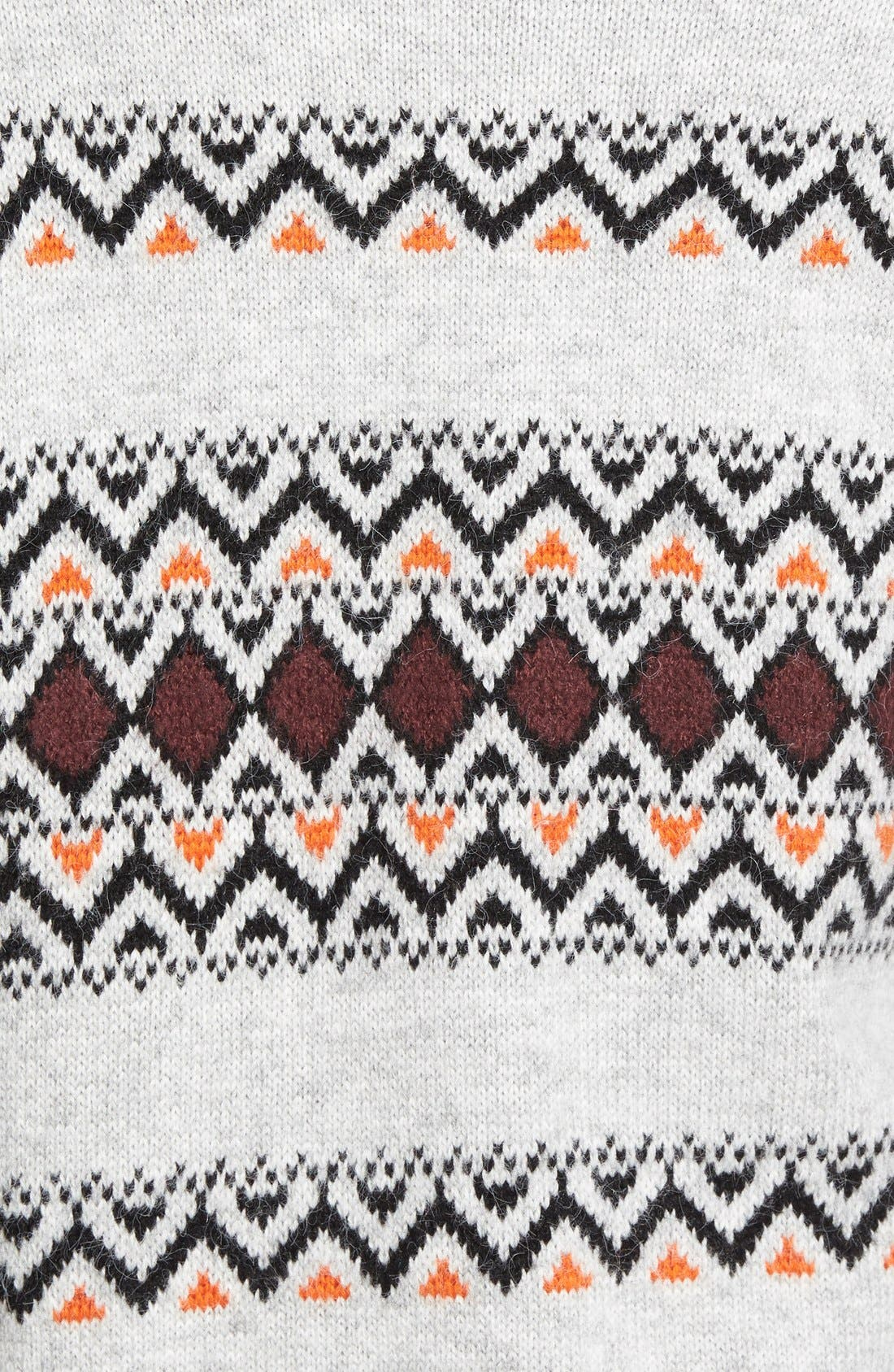 CASLON<SUP>®</SUP>, Patterned Long Cardigan, Alternate thumbnail 2, color, 050