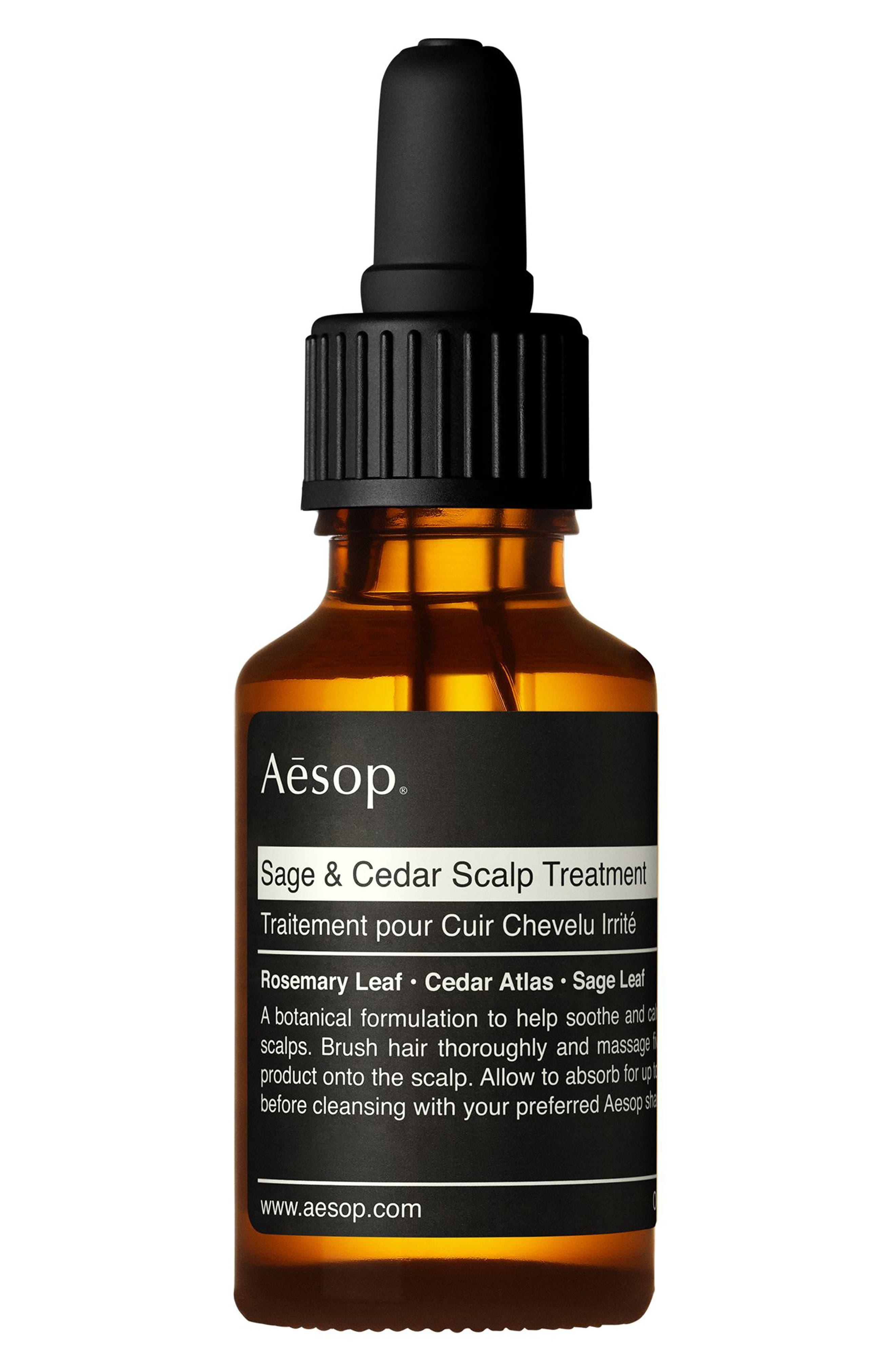 AESOP, Sage & Cedar Scalp Treatment, Main thumbnail 1, color, NONE