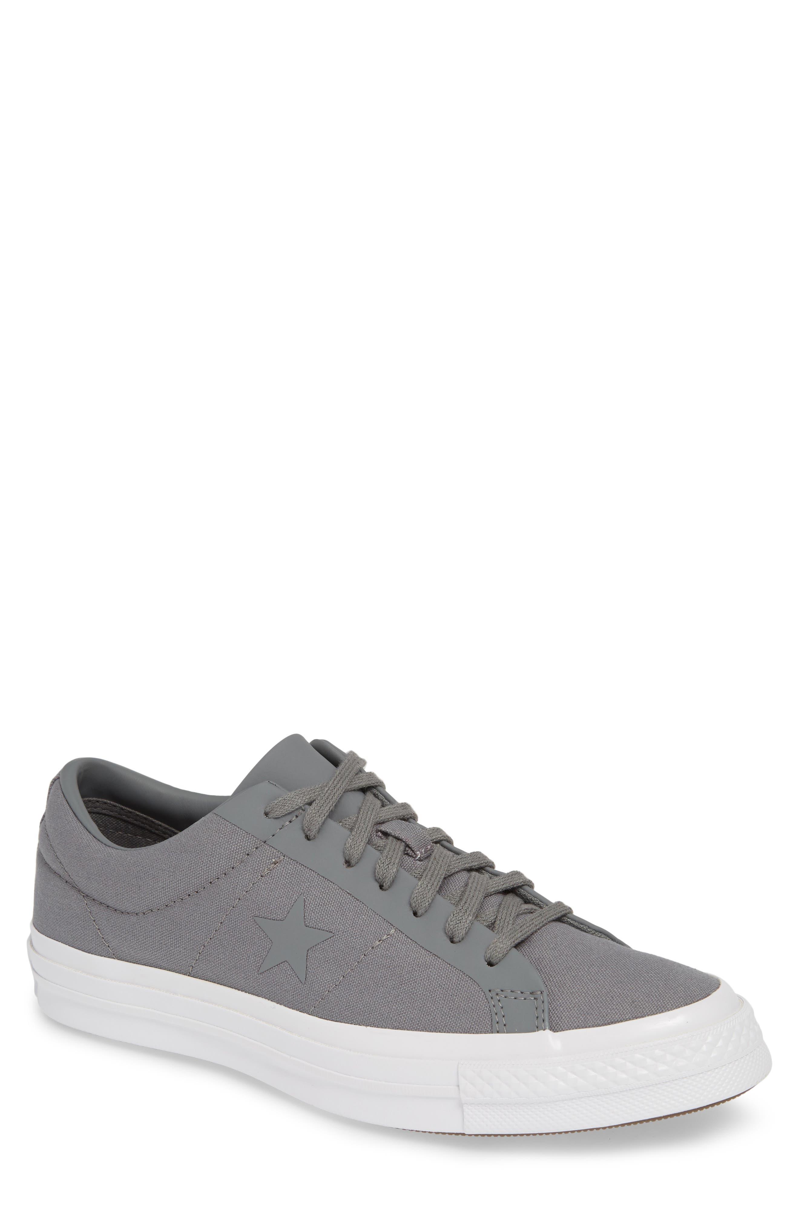 Converse One Star Sneaker, Grey