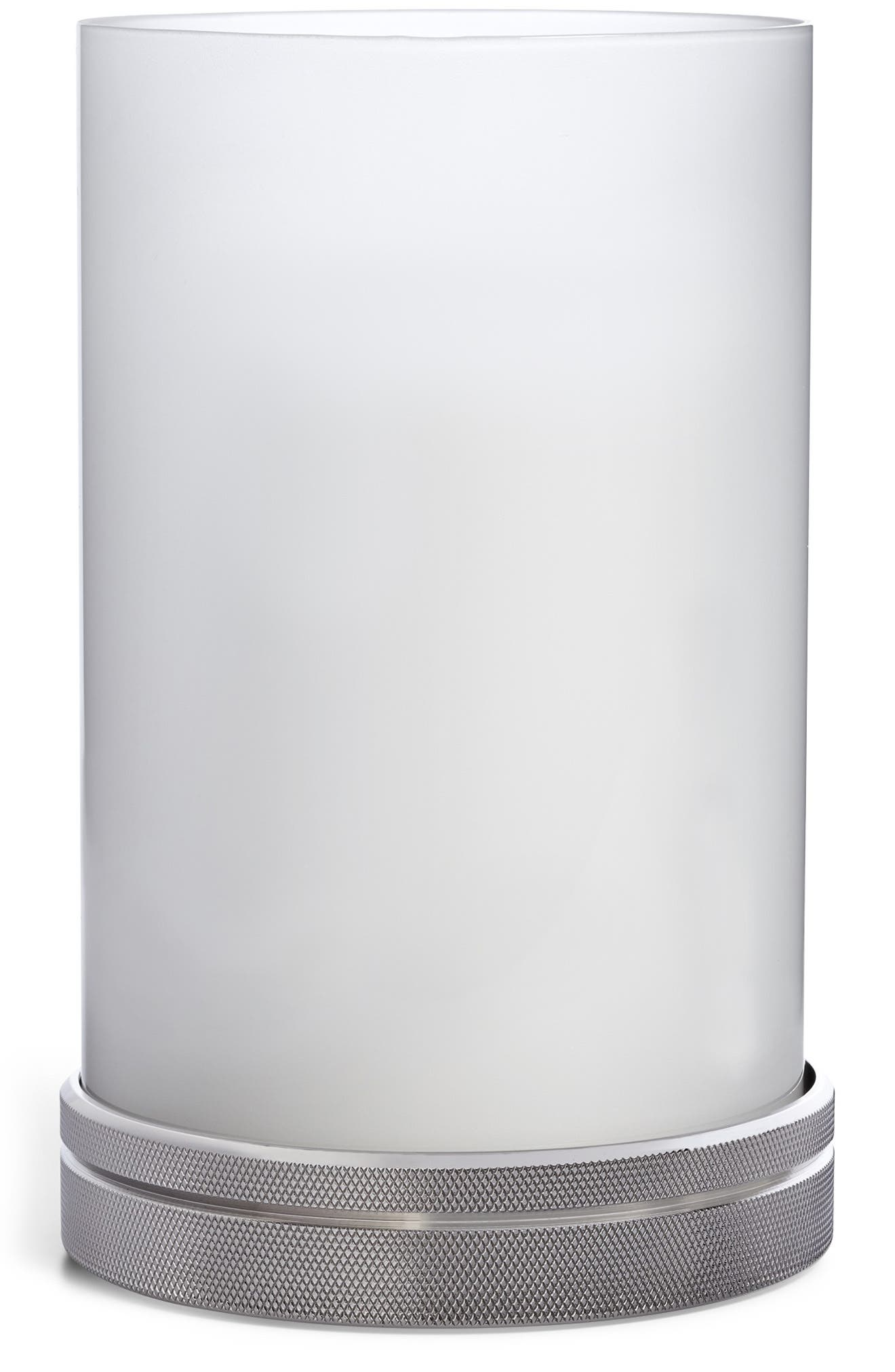 RALPH LAUREN, Paxton Hurricane Candleholder, Main thumbnail 1, color, SILVER