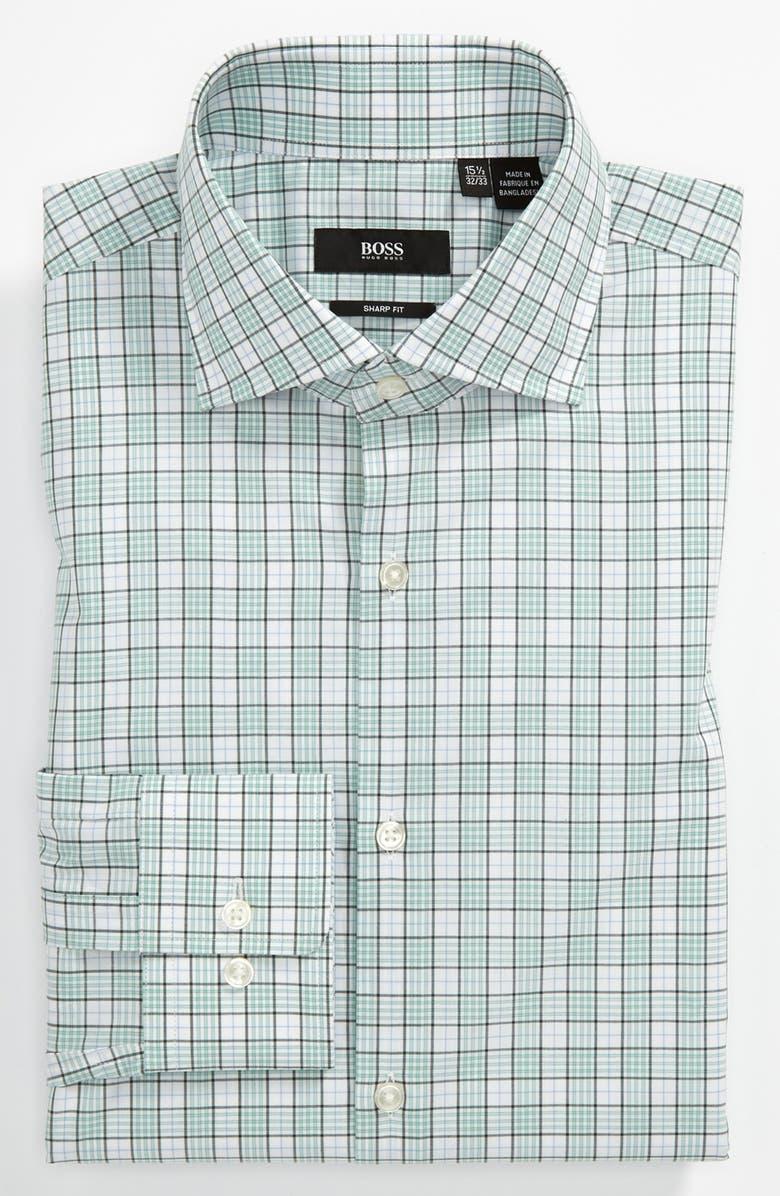 8adef33b BOSS HUGO BOSS Sharp Fit Dress Shirt, Main, color, 330