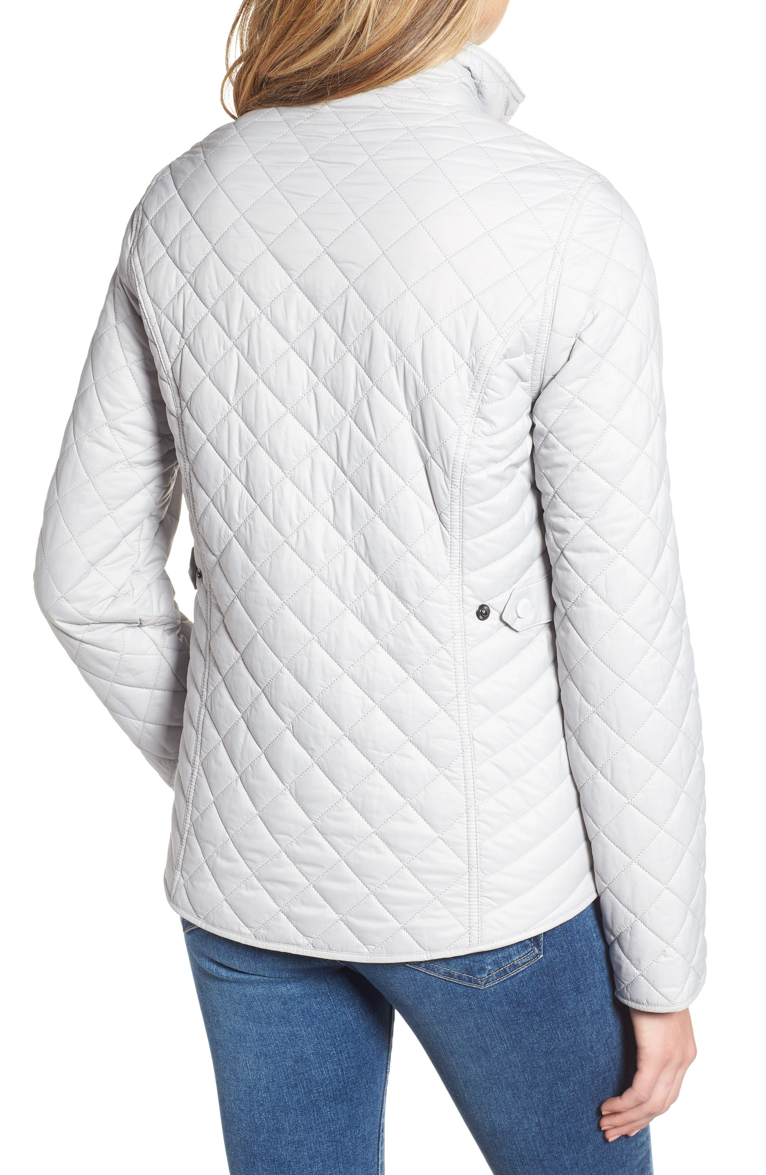 BARBOUR, Sailboat Quilted Jacket, Alternate thumbnail 2, color, 100