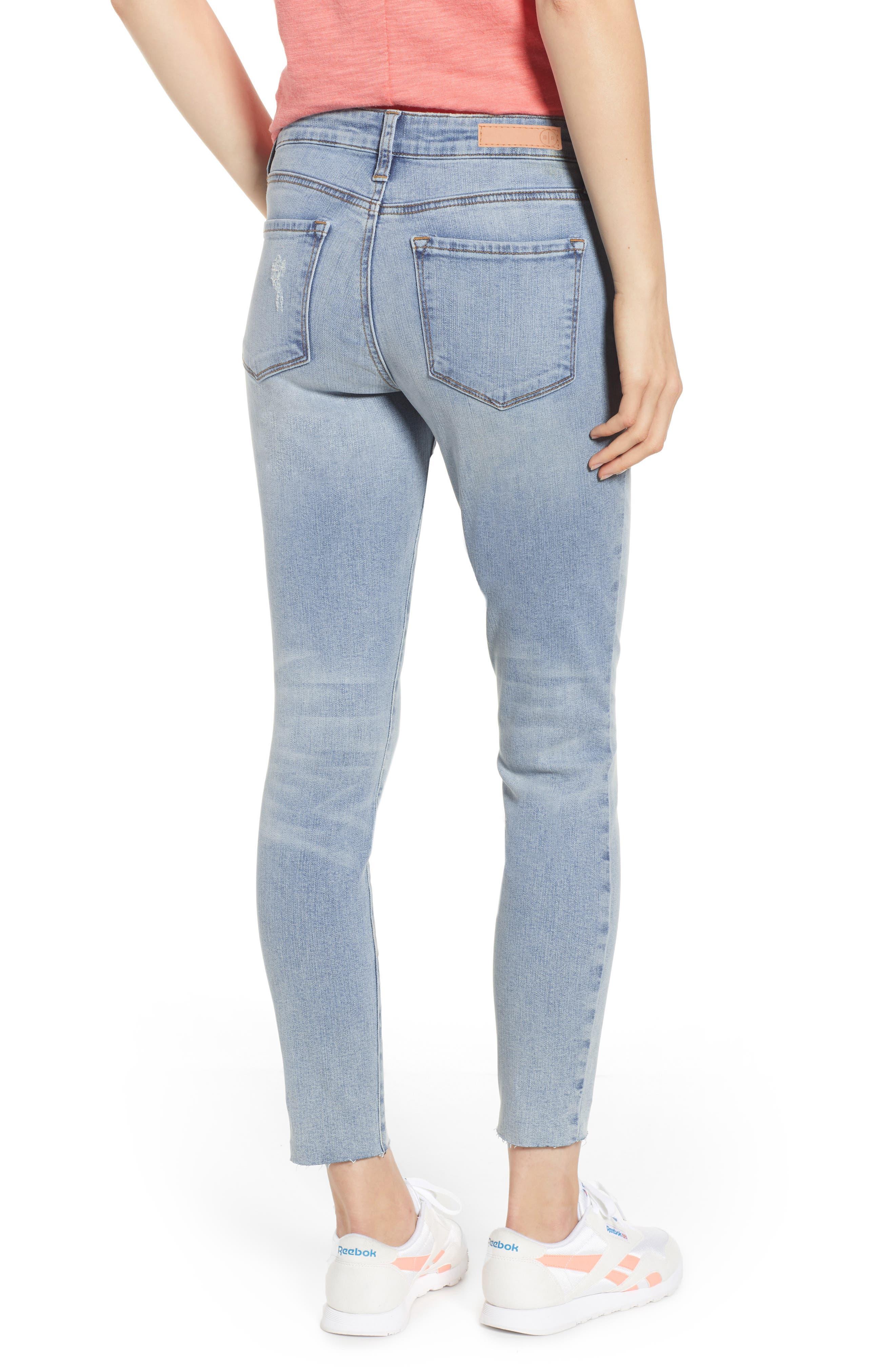 BP., High Waist Skinny Jeans, Alternate thumbnail 2, color, 400