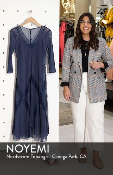 Beaded Chiffon A-Line Dress, sales video thumbnail