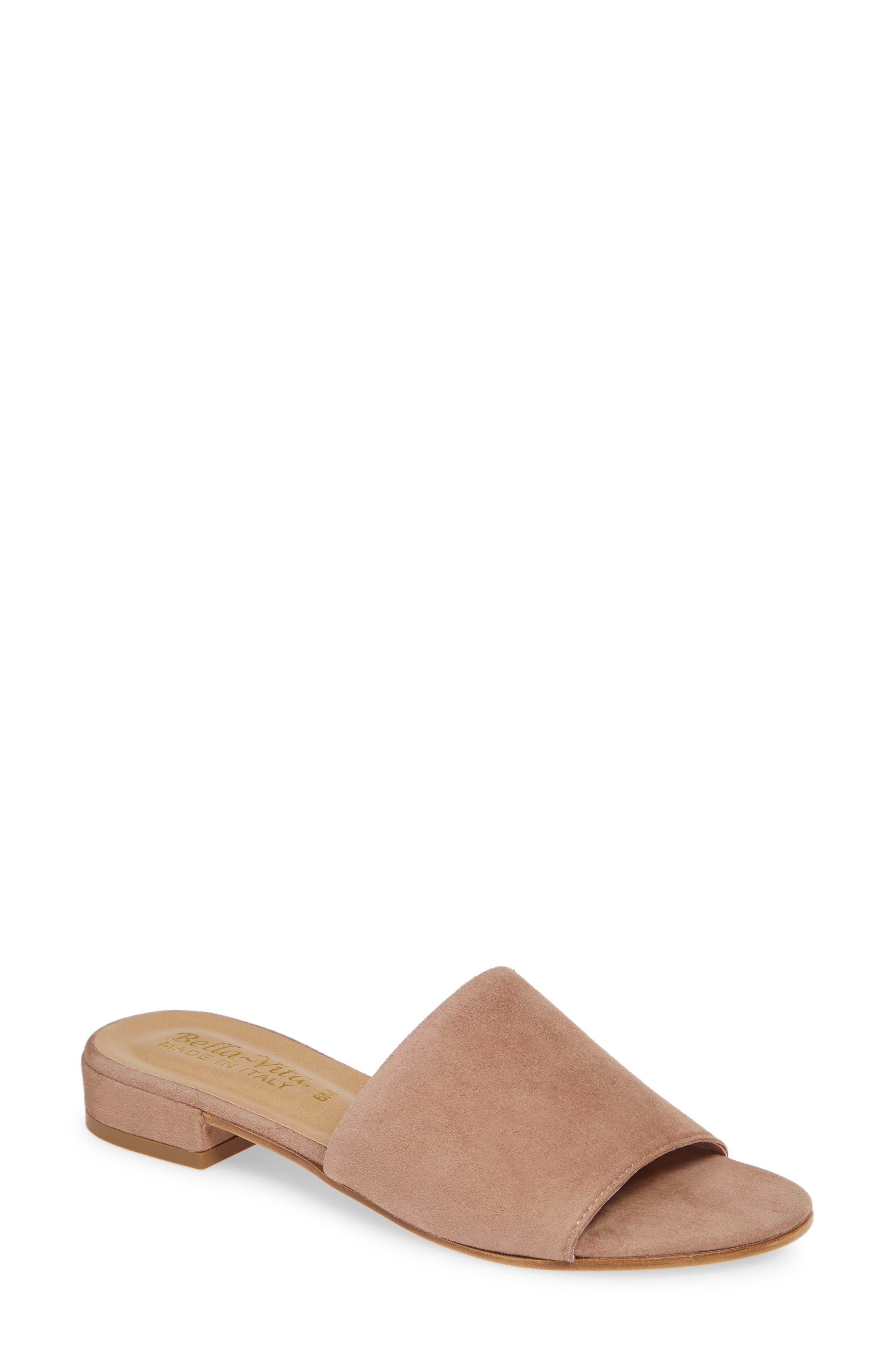 Bella Vita Slide Sandal, Pink