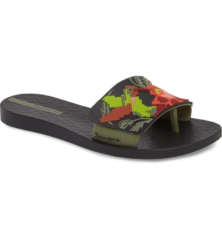 c8c6f807553 Ipanema Nectar Floral Slide Sandal (Women)