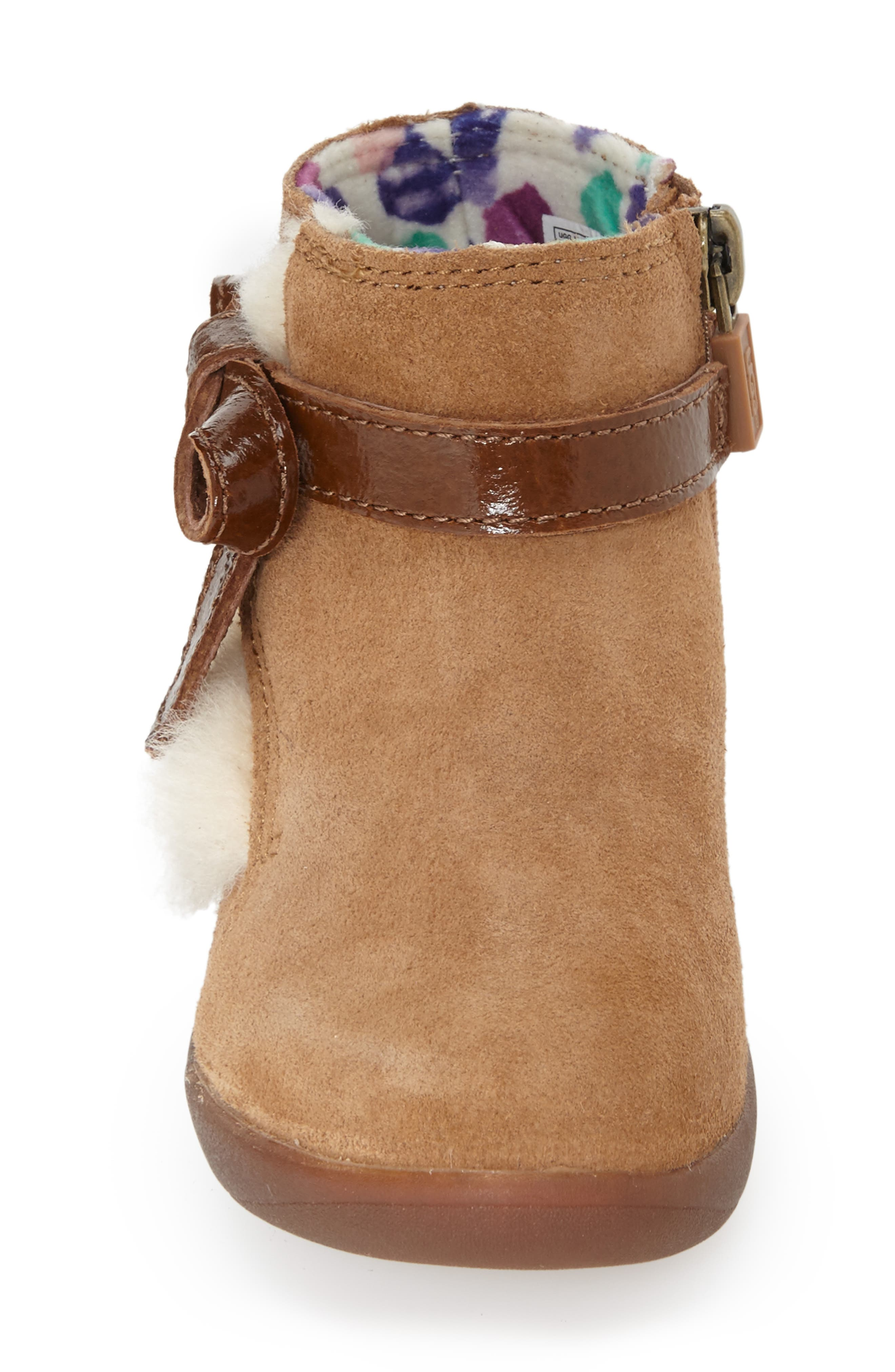 UGG<SUP>®</SUP>, Australia Libbie Boot, Alternate thumbnail 3, color, CHESTNUT BROWN