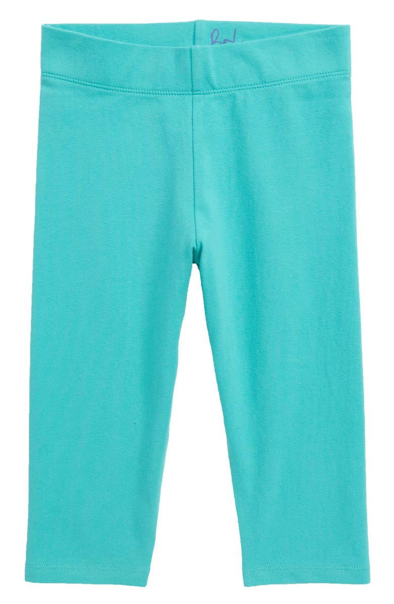 5832eeb243325 MINI BODEN Boden Plain Crop Leggings, Main, color, LGR SEA BREEZE GREEN