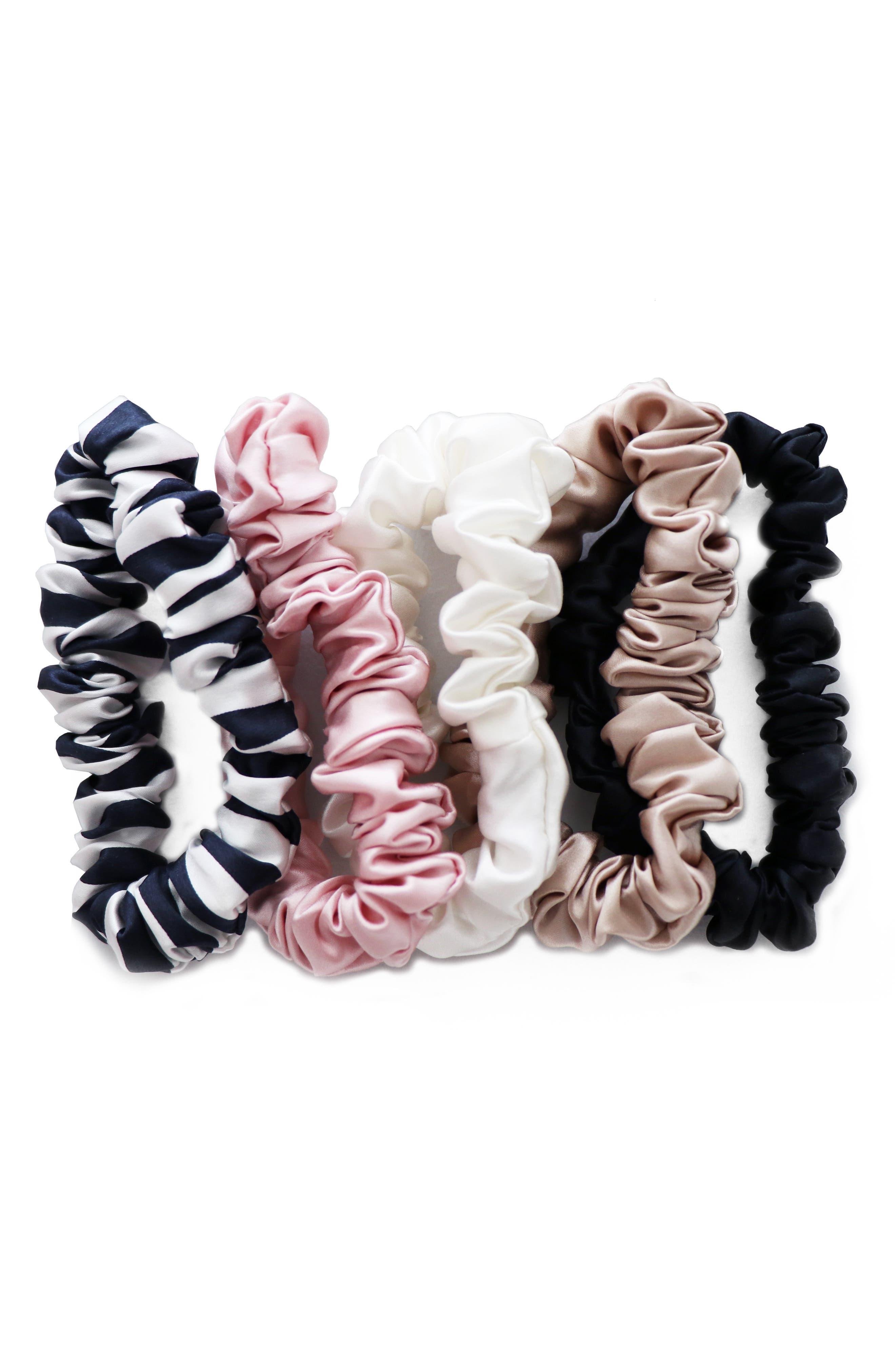SLIP FOR BEAUTY SLEEP slip<sup>™</sup> for beauty sleep Midi Scrunchie Set, Main, color, MIXED