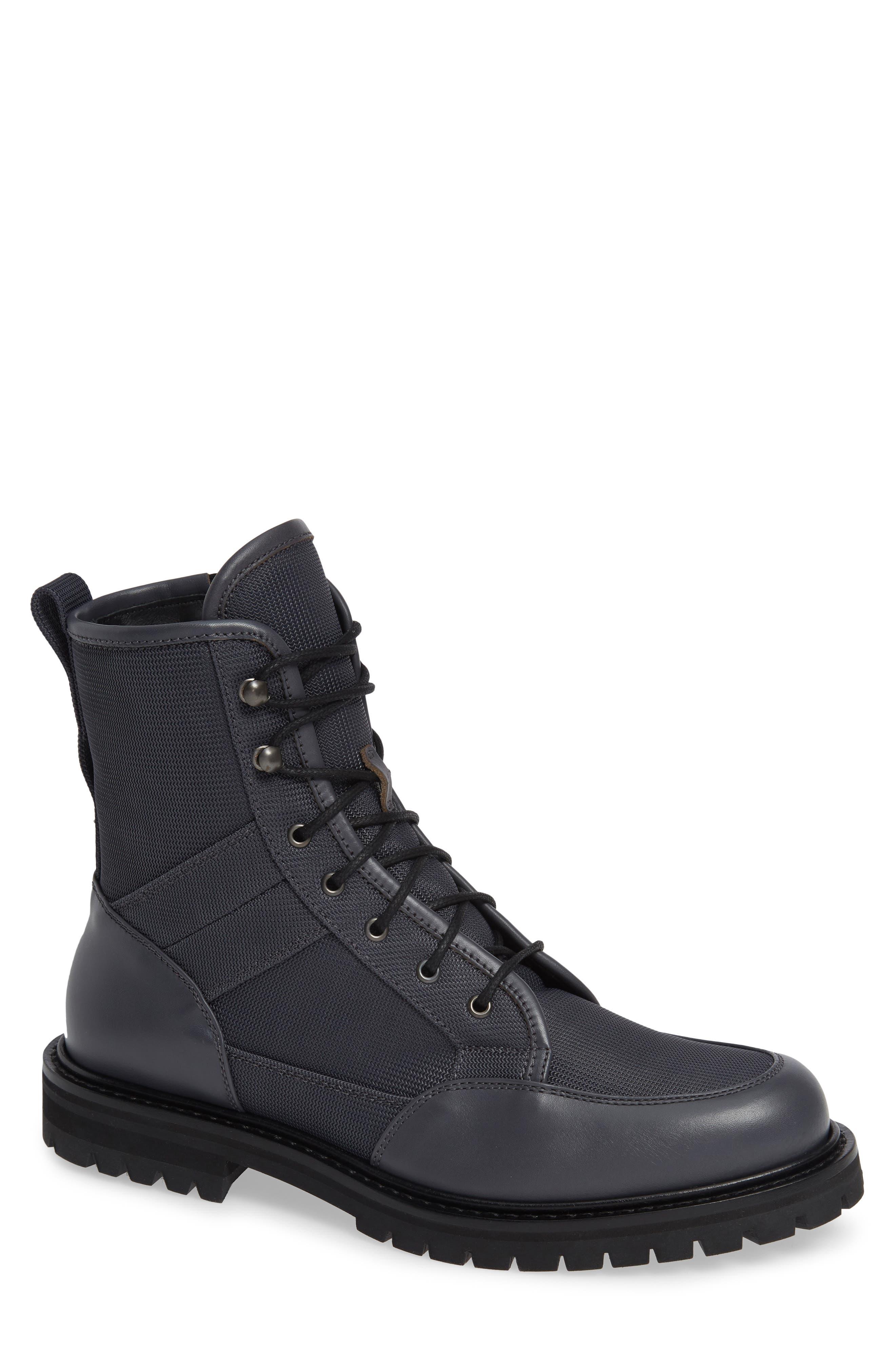 Aquatalia Irus Weatherproof Mesh Boot- Grey