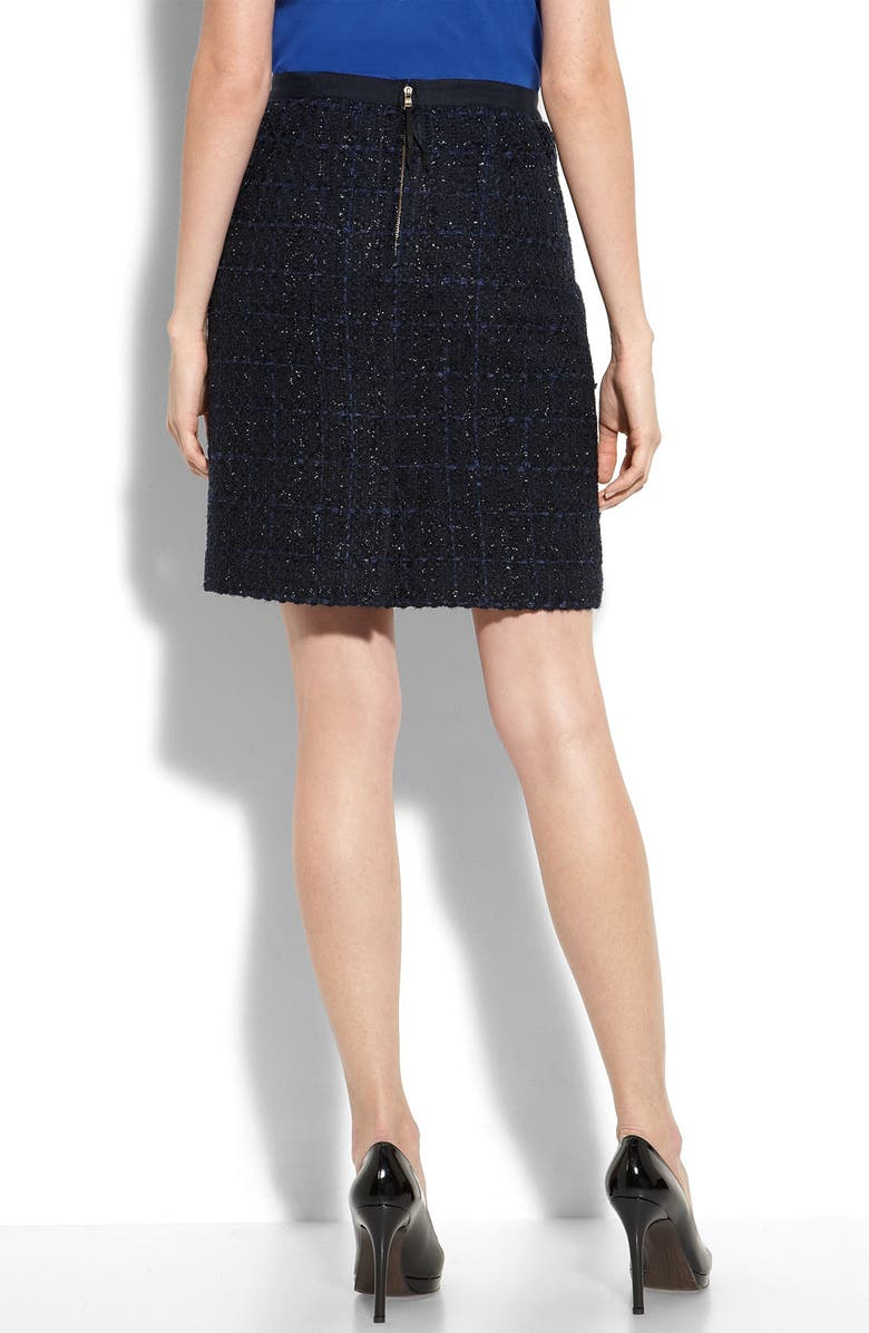849cbe91338265 REBECCA TAYLOR 'Sparkle' Tweed Skirt, Main, color, ...