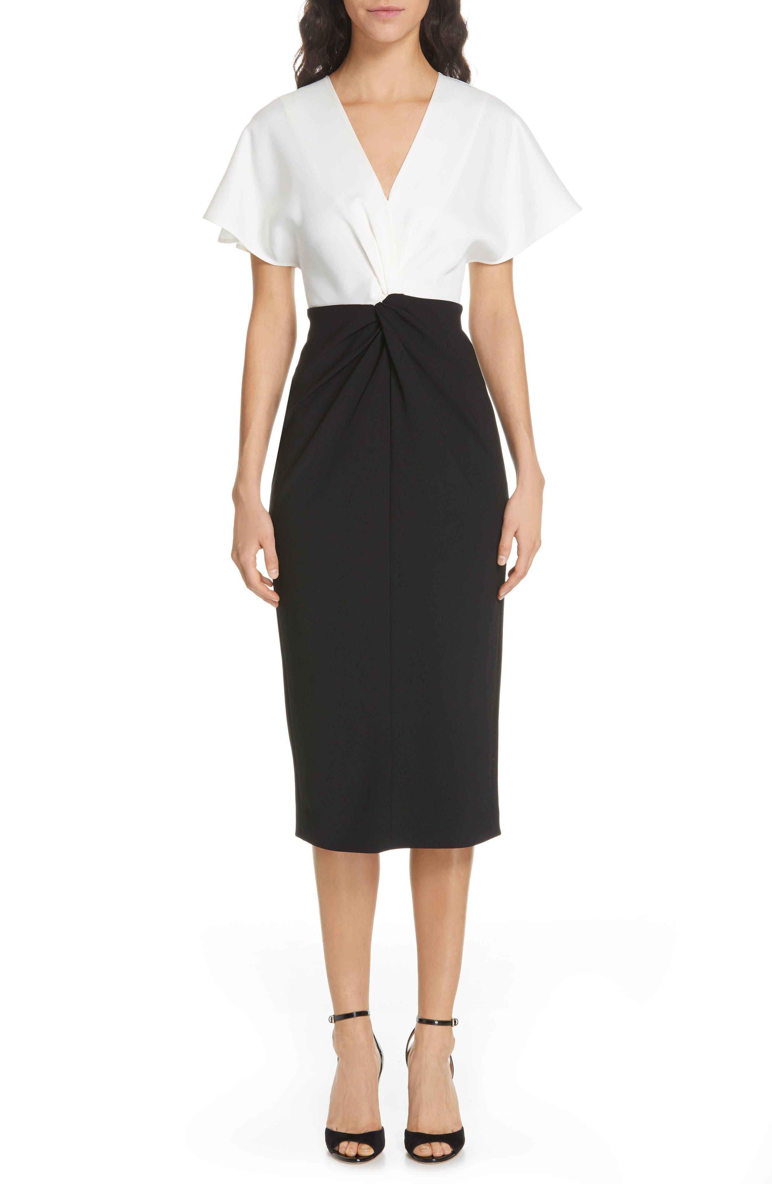 Ted Baker London Ellame Sheath Dress, Black