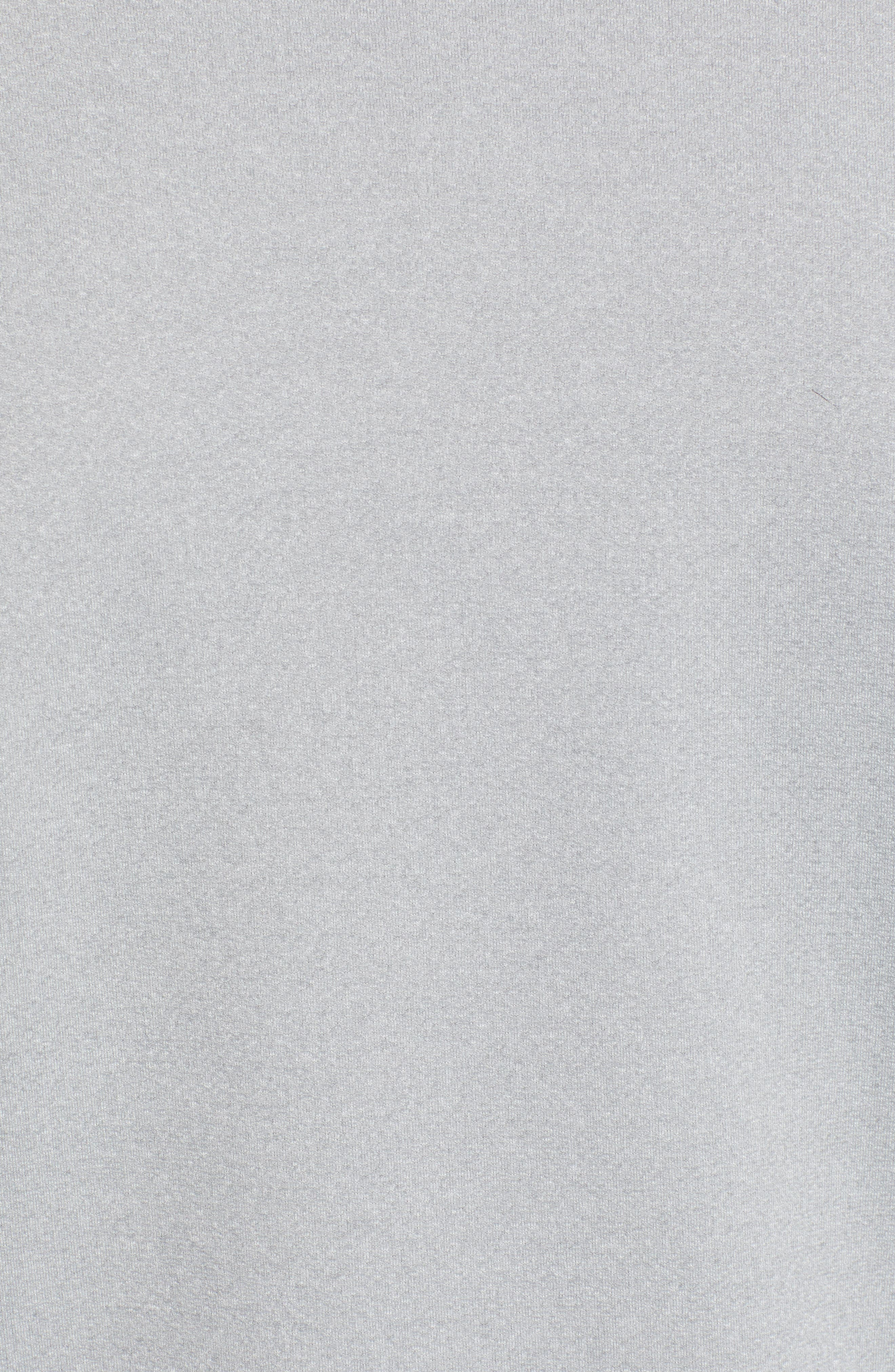 DEVEREUX, Lay-Low Half Zip Pullover, Alternate thumbnail 5, color, ASPHALT