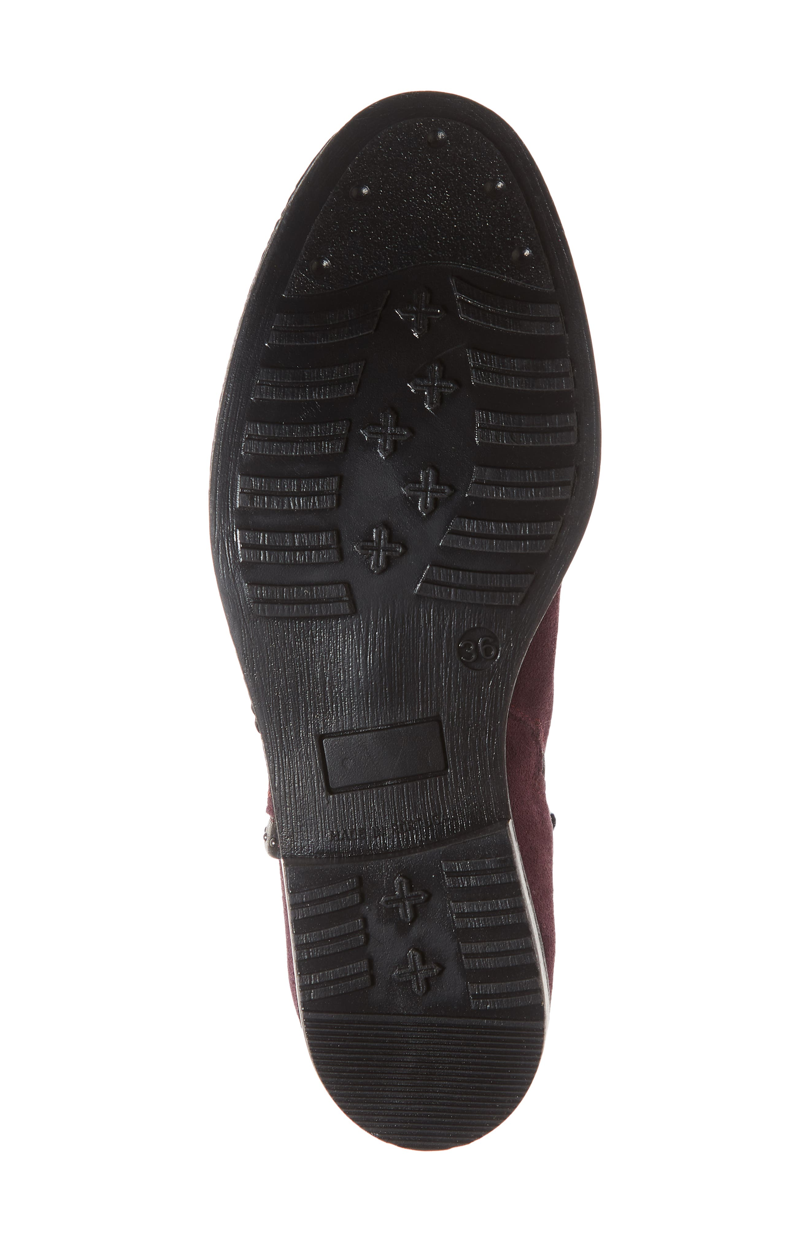 BOS. & CO., Ribos Bootie, Alternate thumbnail 6, color, PRUNE SUEDE