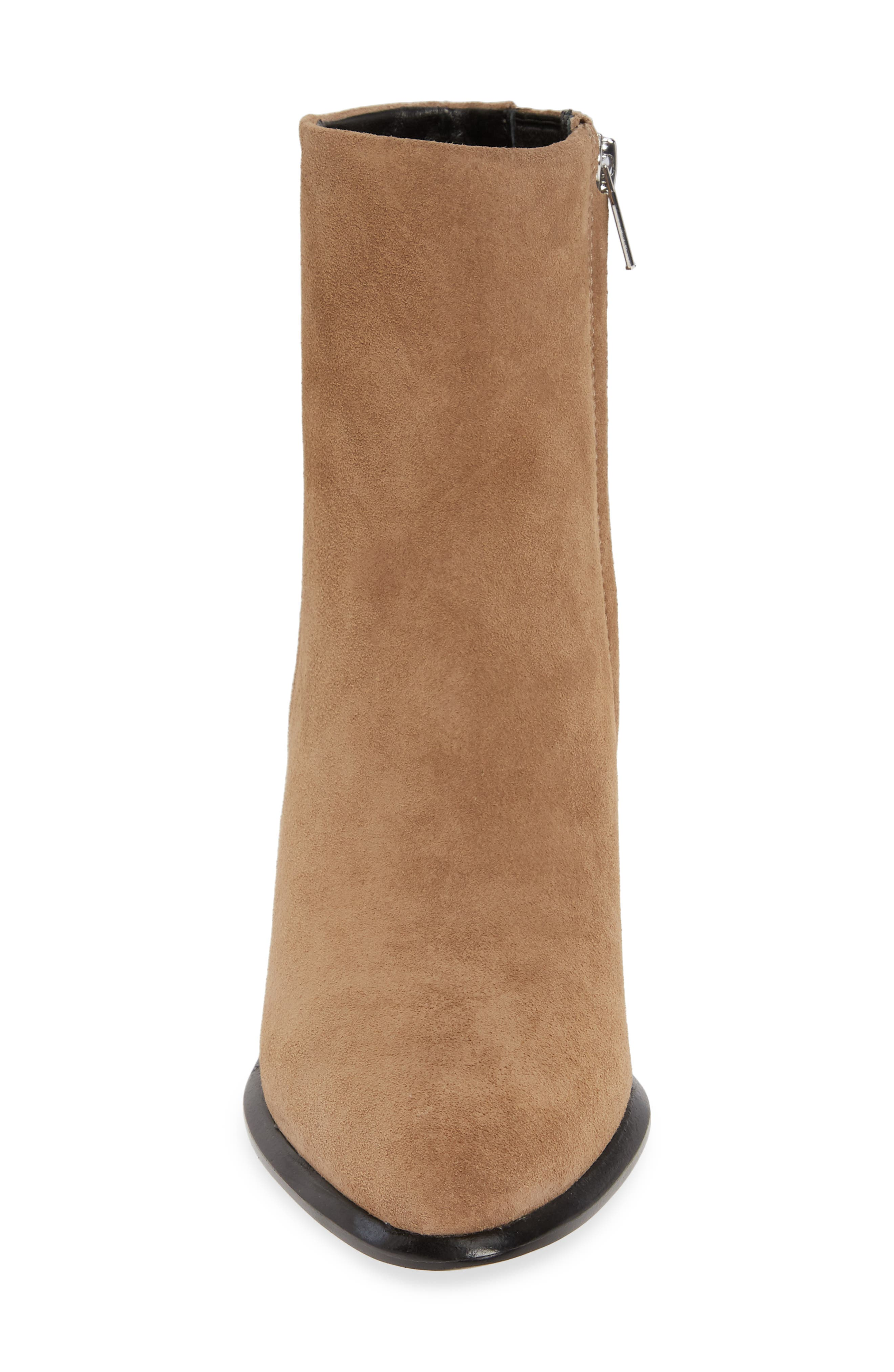 ALEXANDER WANG, Anna Mid Bootie, Alternate thumbnail 4, color, SAND SUEDE