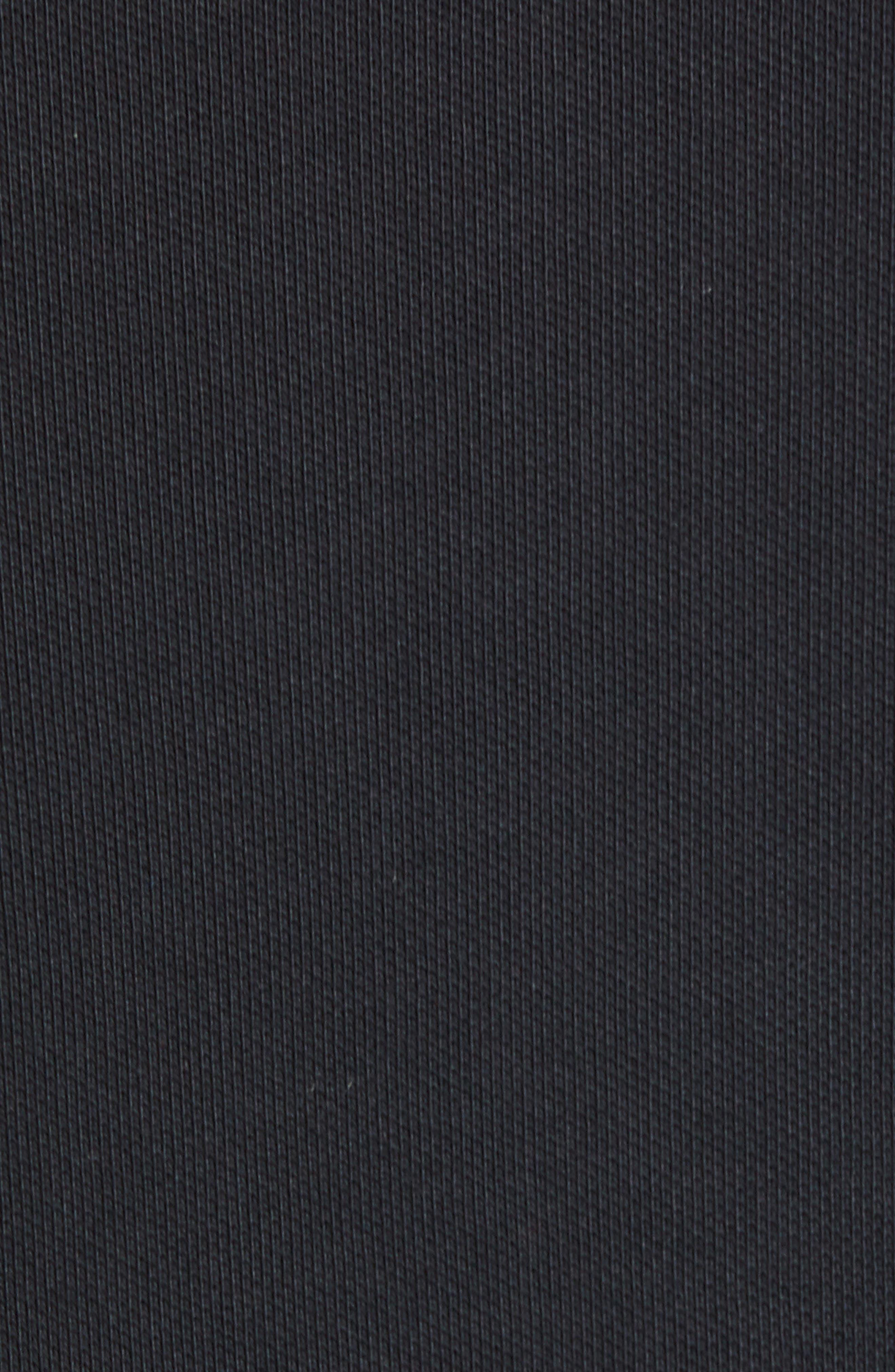 NIKE SB, Nike Dry SB Rugby Polo, Alternate thumbnail 6, color, BLACK/BLACK/BLACK/WHITE