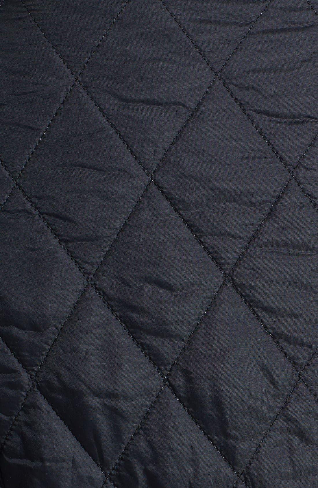BARBOUR, Cavalry Flyweight Quilt Jacket, Alternate thumbnail 8, color, 001