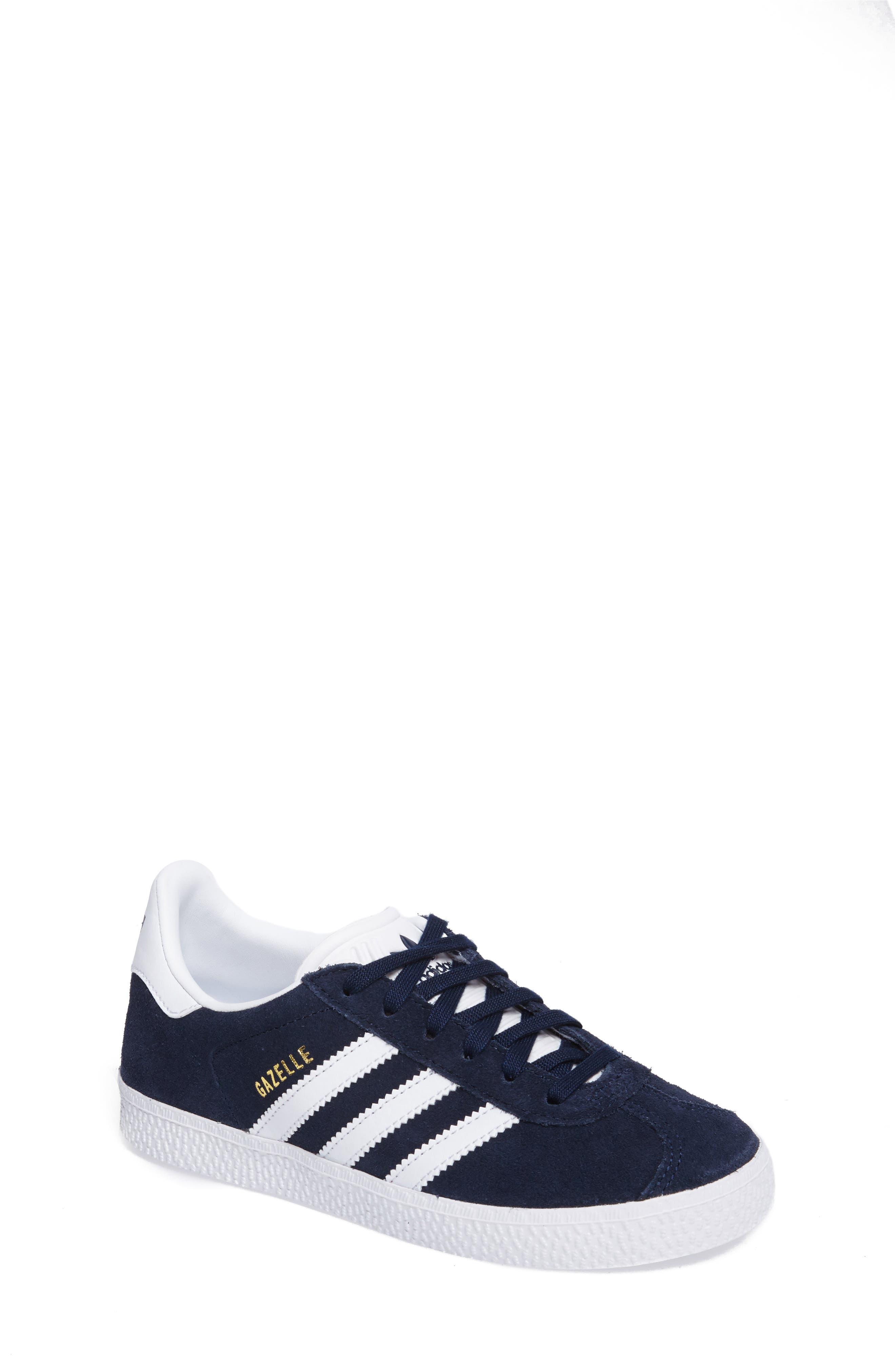 Toddler Adidas Gazelle Sneaker Size 125 M  Blue