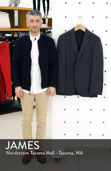 Johnstons CYL Classic Fit Solid Wool Sport Coat, sales video thumbnail