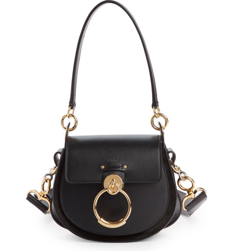 e1ac2768b15f5 Chloé Small Tess Calfskin Leather Shoulder Bag