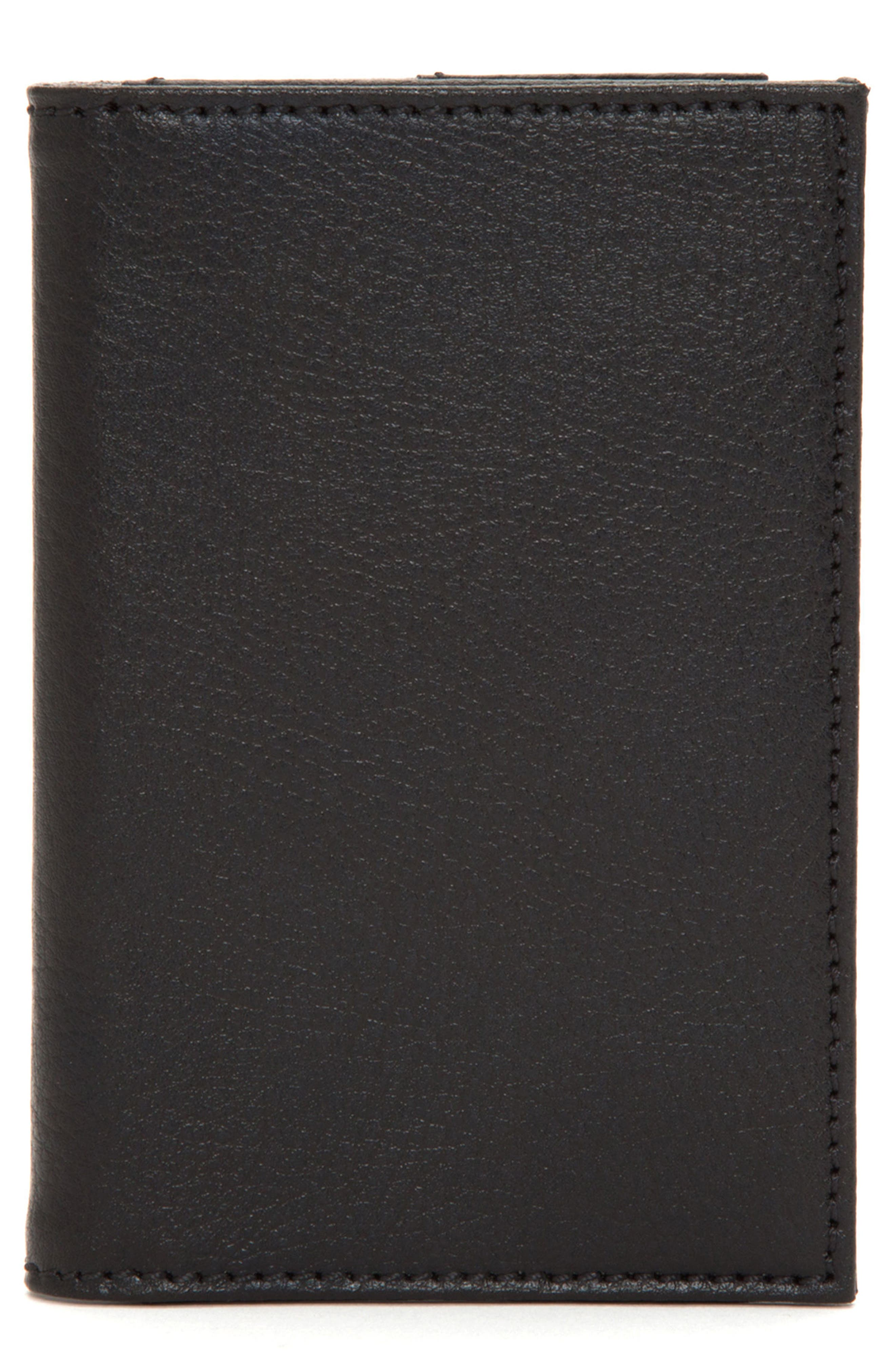 WOLF, Howard Passport Case, Main thumbnail 1, color, BLACK
