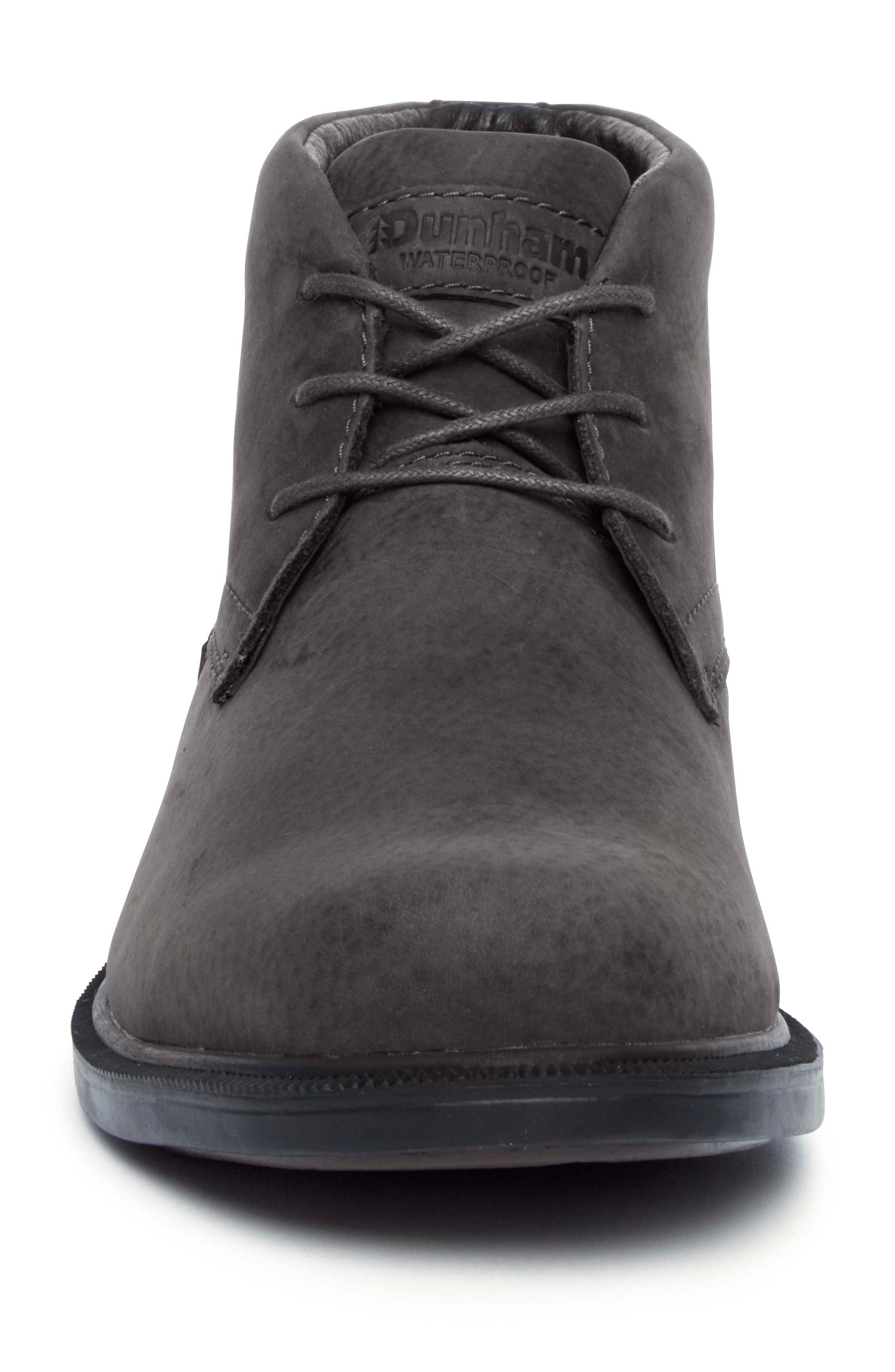 DUNHAM, Jericho Waterproof Chukka Boot, Alternate thumbnail 4, color, 020