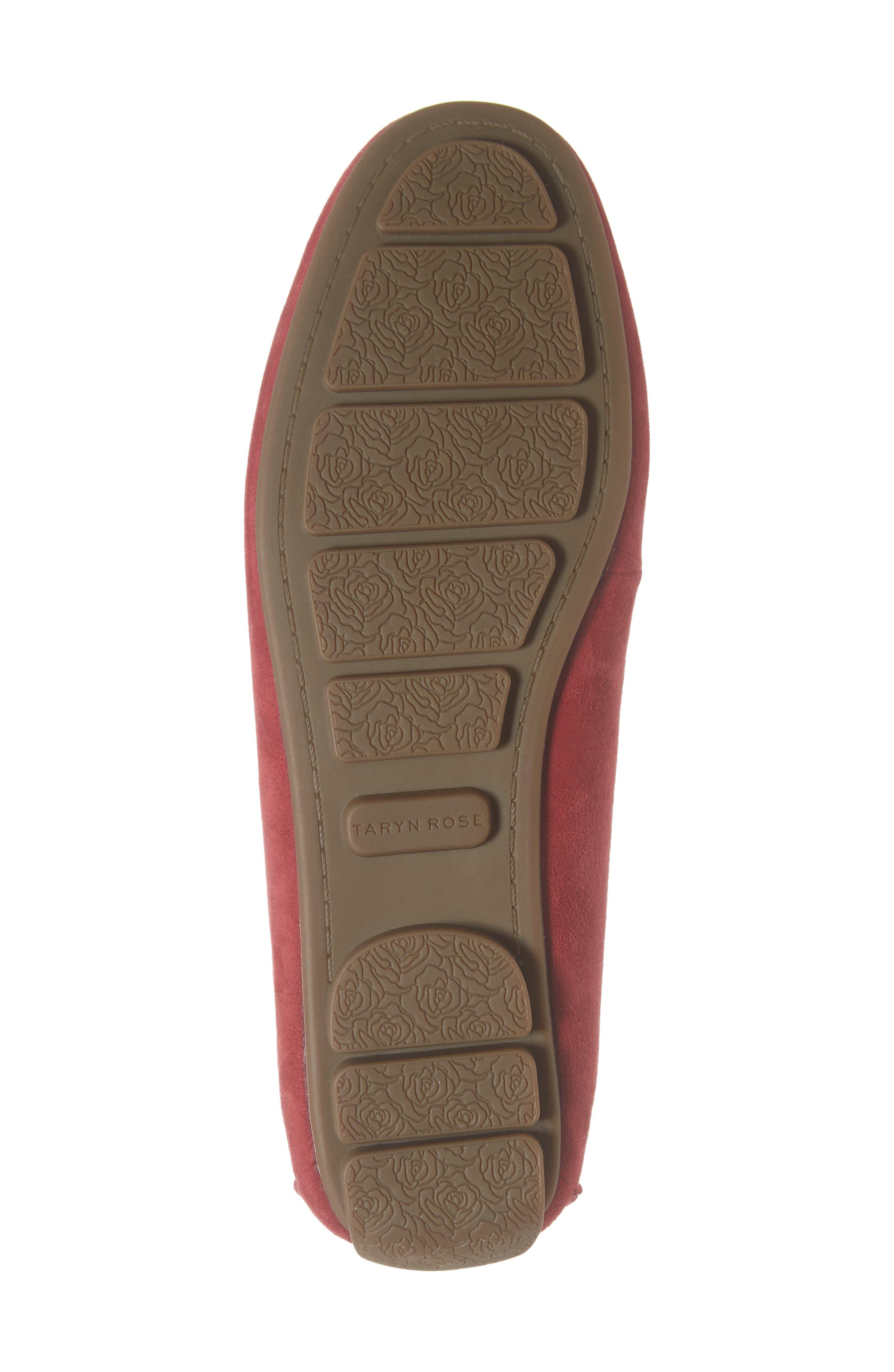 TARYN ROSE, Karen Water Resistant Driving Loafer, Alternate thumbnail 6, color, 602