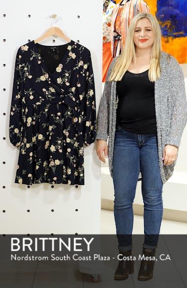 Long Sleeve Floral Dress, sales video thumbnail