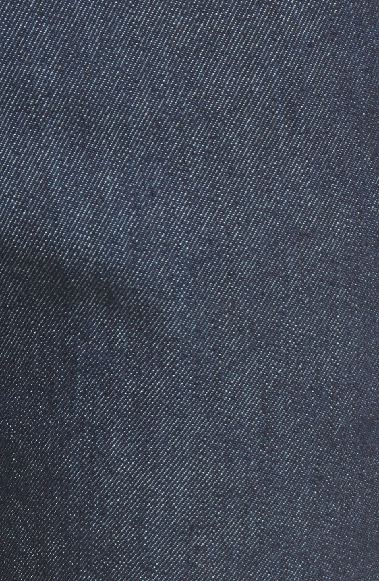 LOEWE, Skinny Fit Jeans, Alternate thumbnail 5, color, BLUE DENIM
