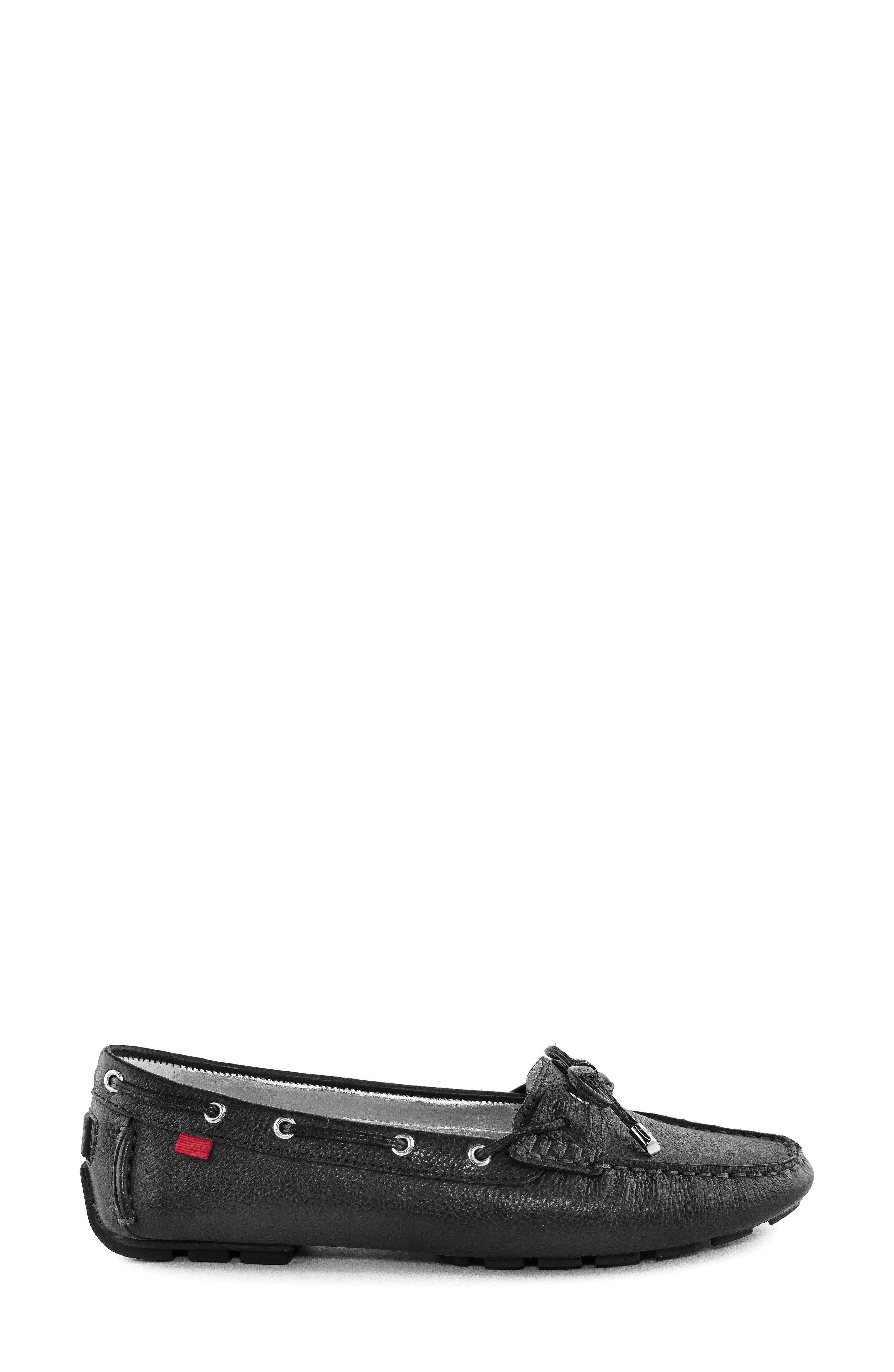 MARC JOSEPH NEW YORK, Rockaway Loafer, Alternate thumbnail 3, color, BLACK LEATHER