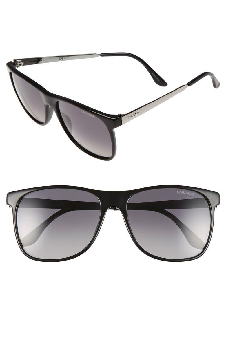 e25b57df9bd5 CARRERA EYEWEAR 57mm Polarized Sunglasses, Main, color, 003