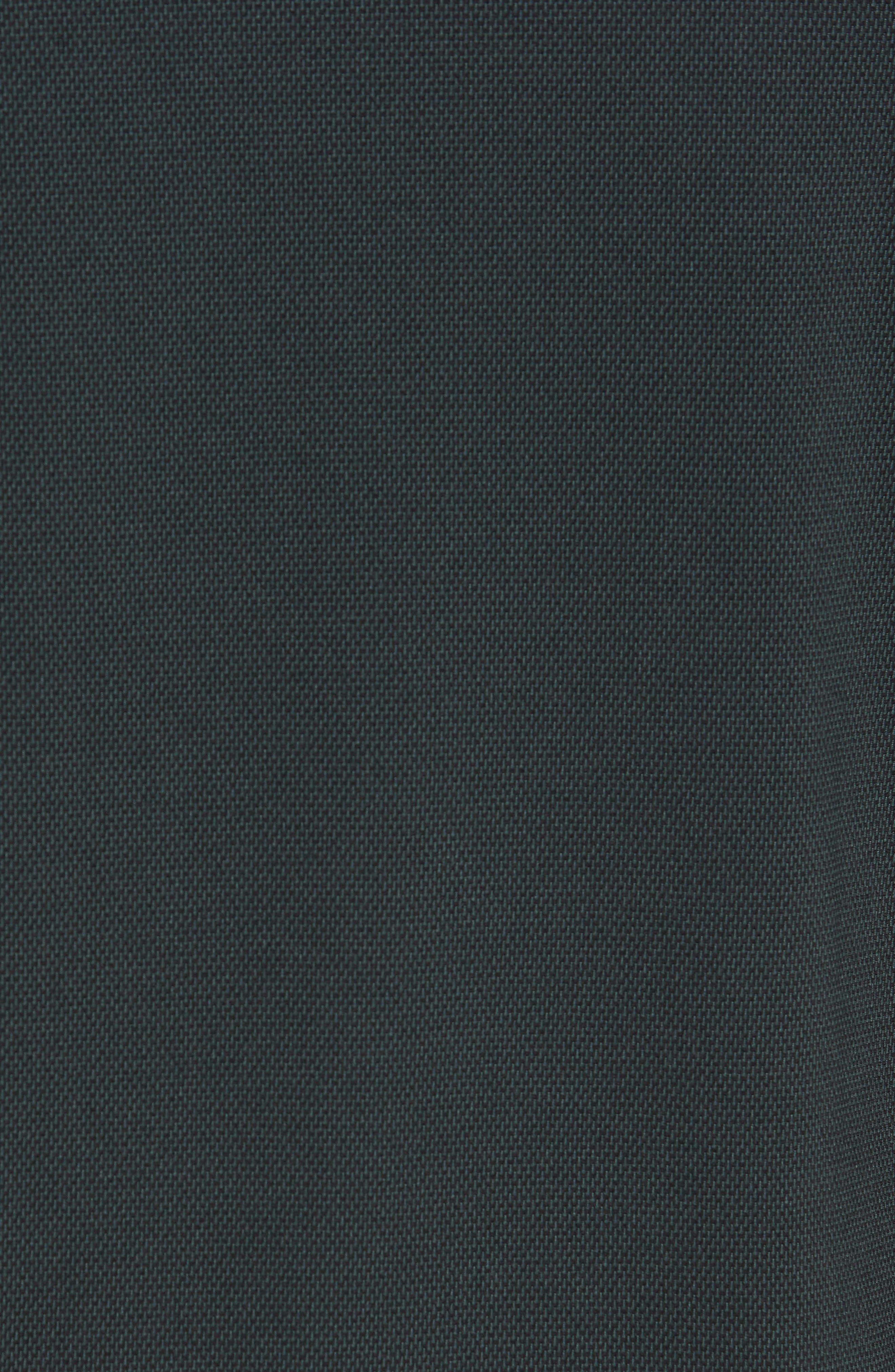 ZELLA, Mixed Media Crewneck Pullover, Alternate thumbnail 6, color, 310